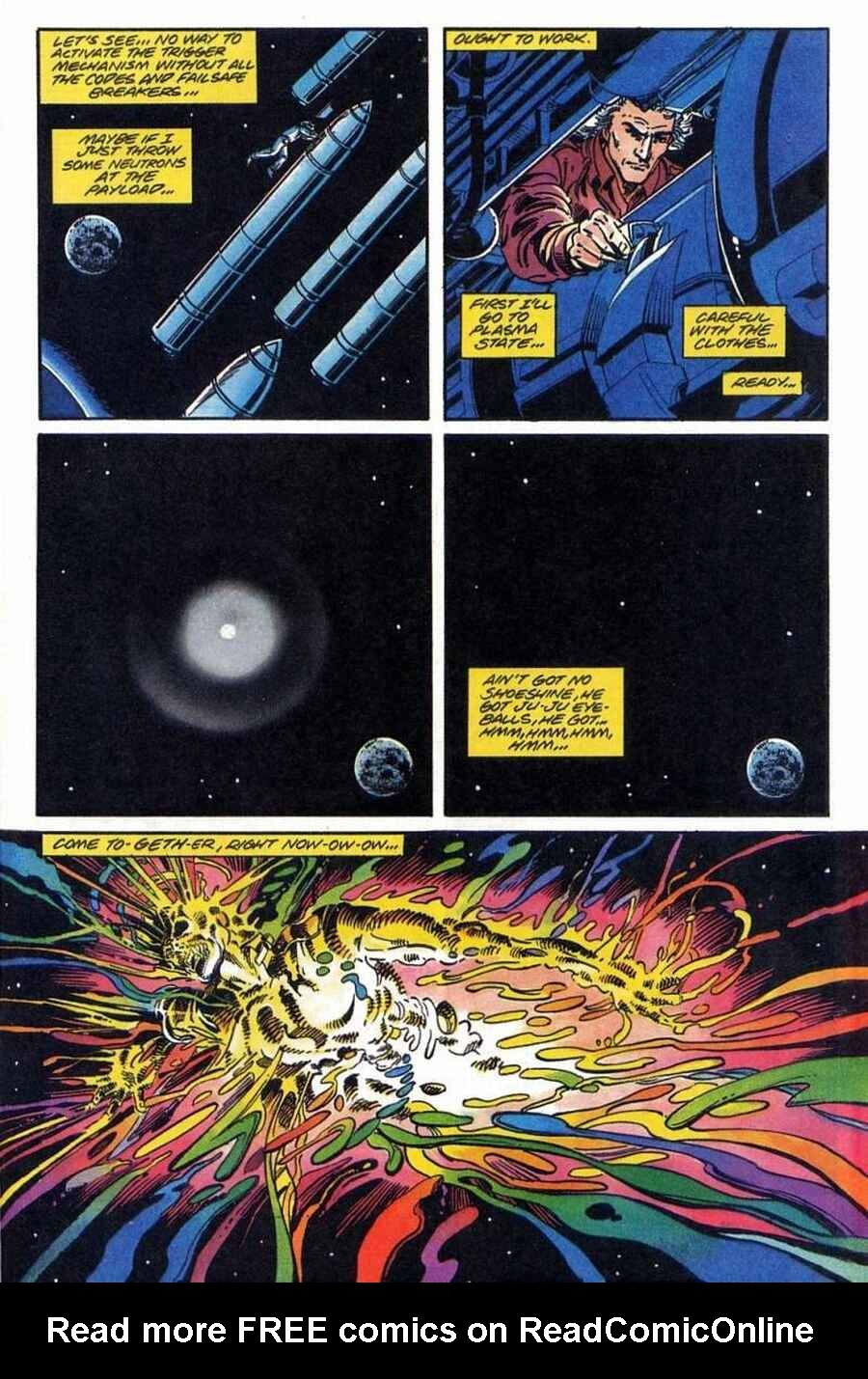 Read online Solar, Man of the Atom comic -  Issue #1 - 24