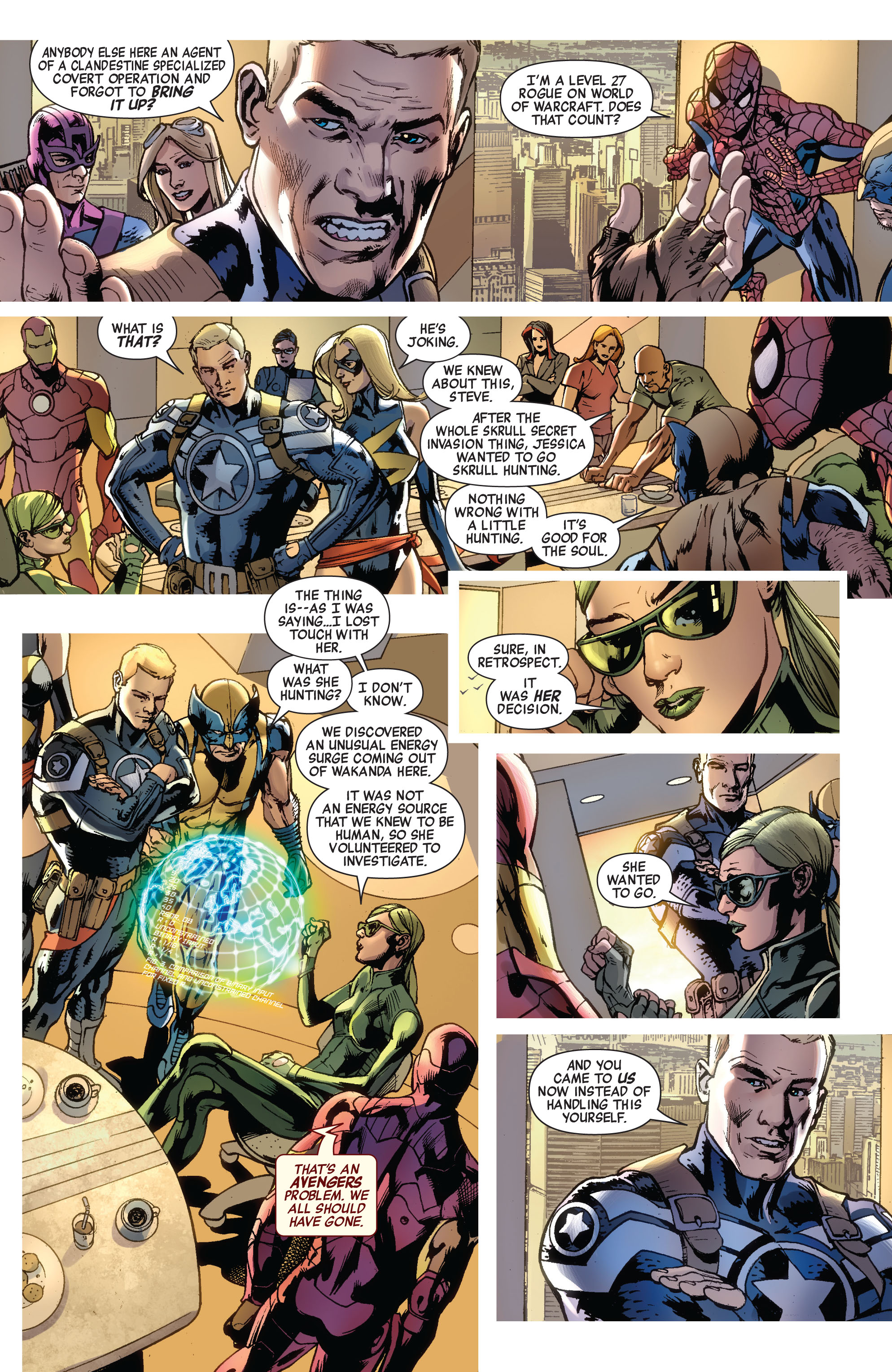 Read online Avengers (2010) comic -  Issue #12.1 - 7