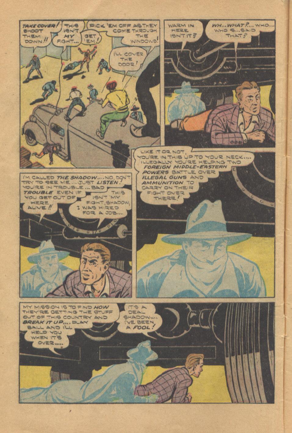 Read online Shadow Comics comic -  Issue #95 - 10