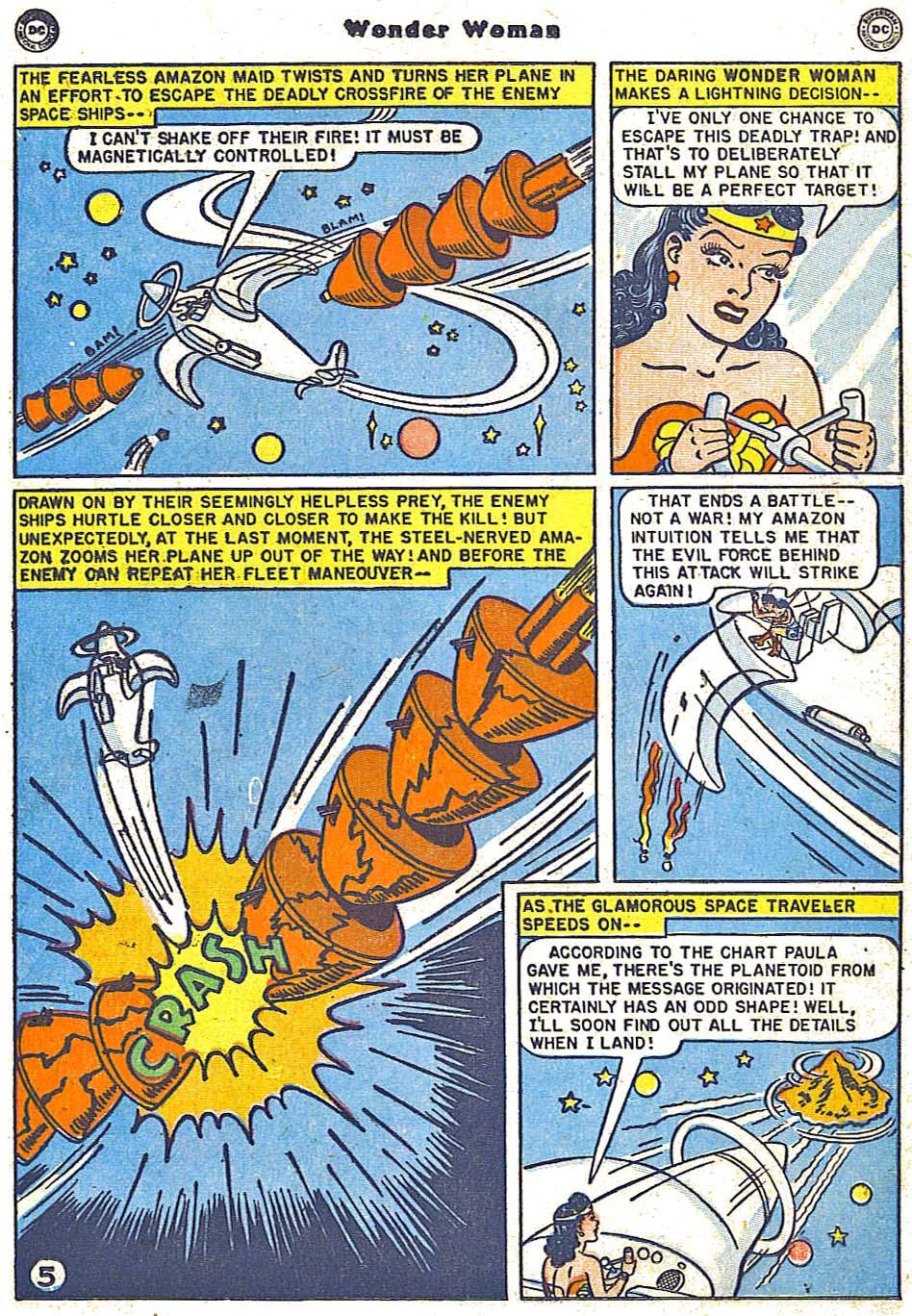 Read online Wonder Woman (1942) comic -  Issue #38 - 21