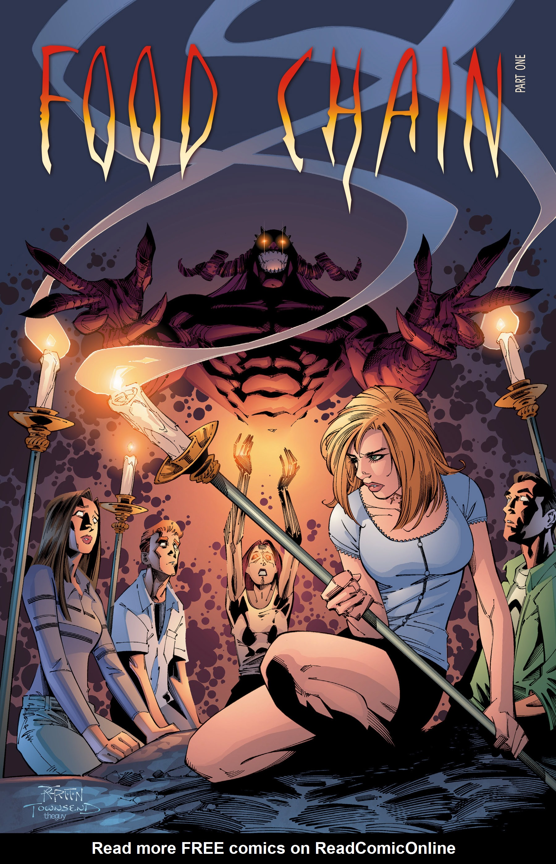 Read online Buffy the Vampire Slayer: Omnibus comic -  Issue # TPB 3 - 174