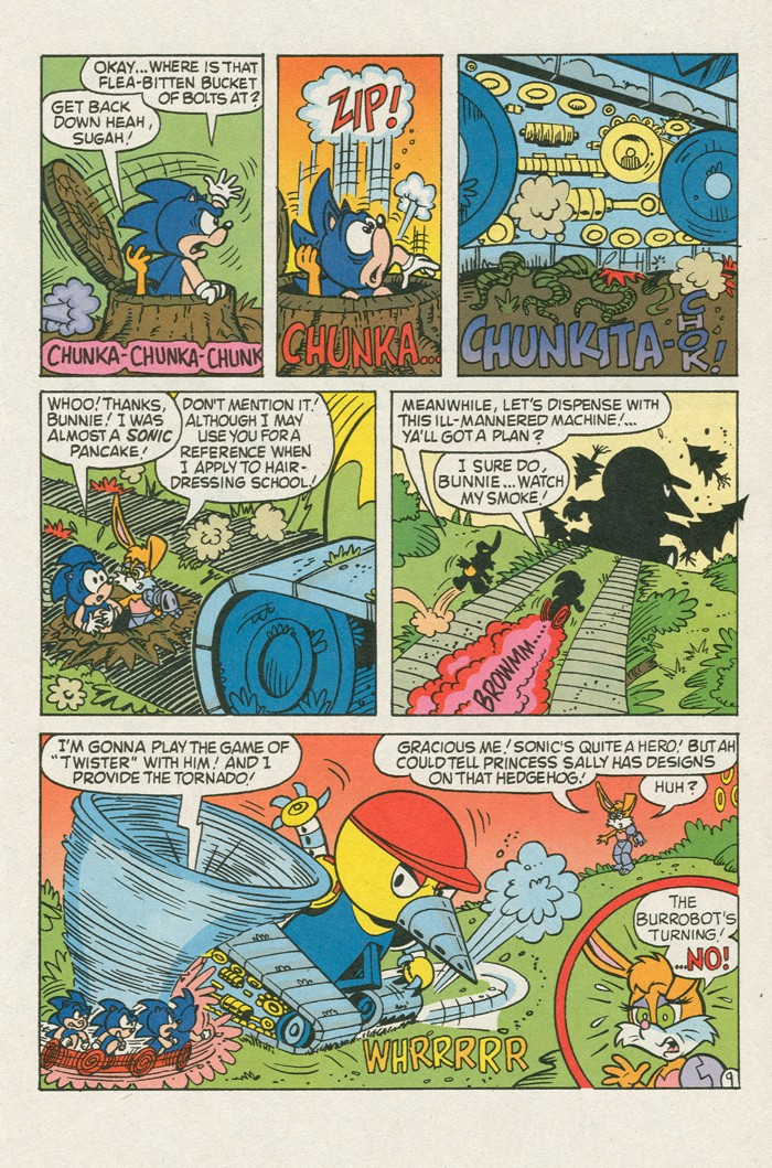 Read online Sonic Super Special comic -  Issue #3 - Sonic Firsts - 22