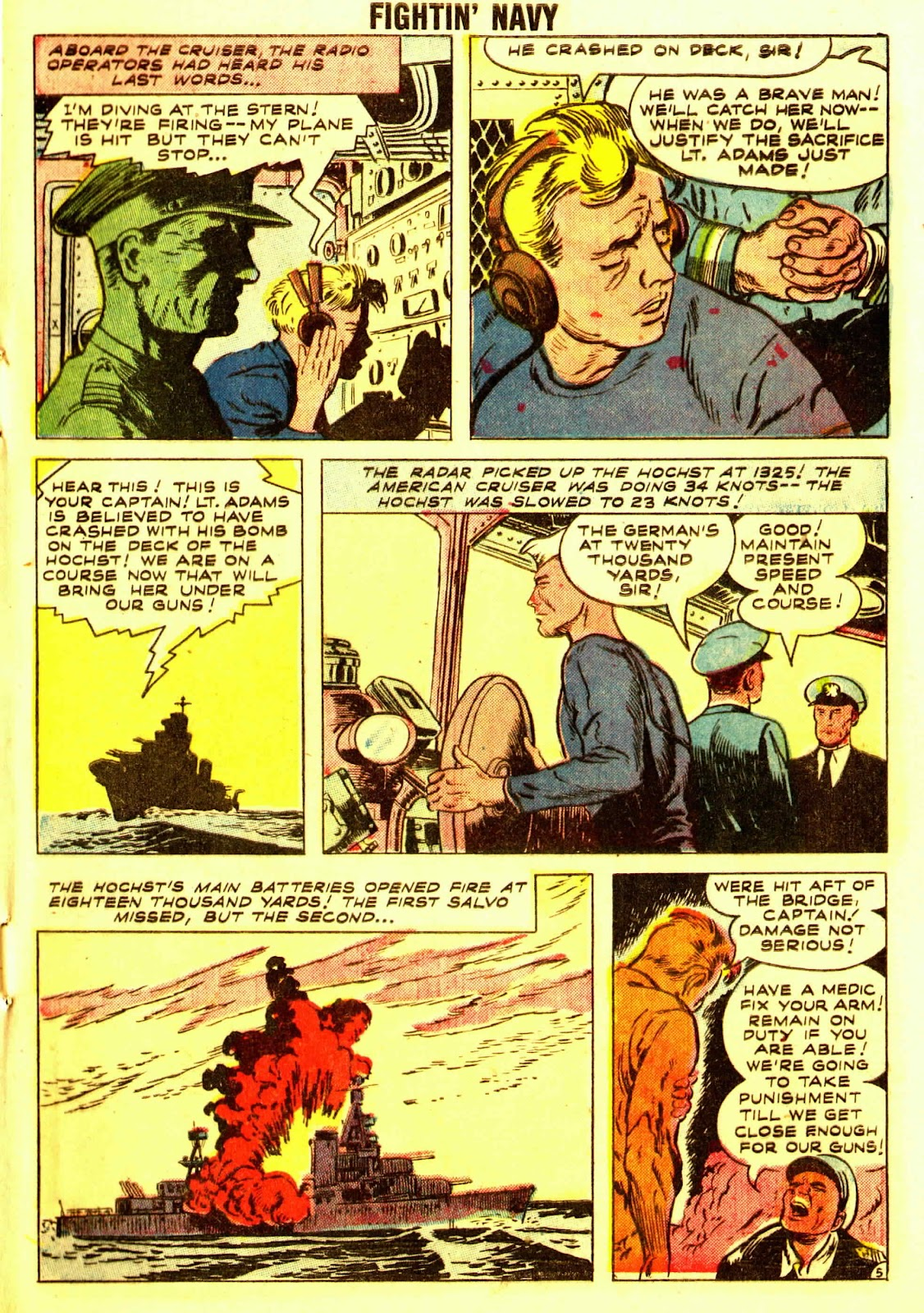 Read online Fightin' Navy comic -  Issue #83 - 7