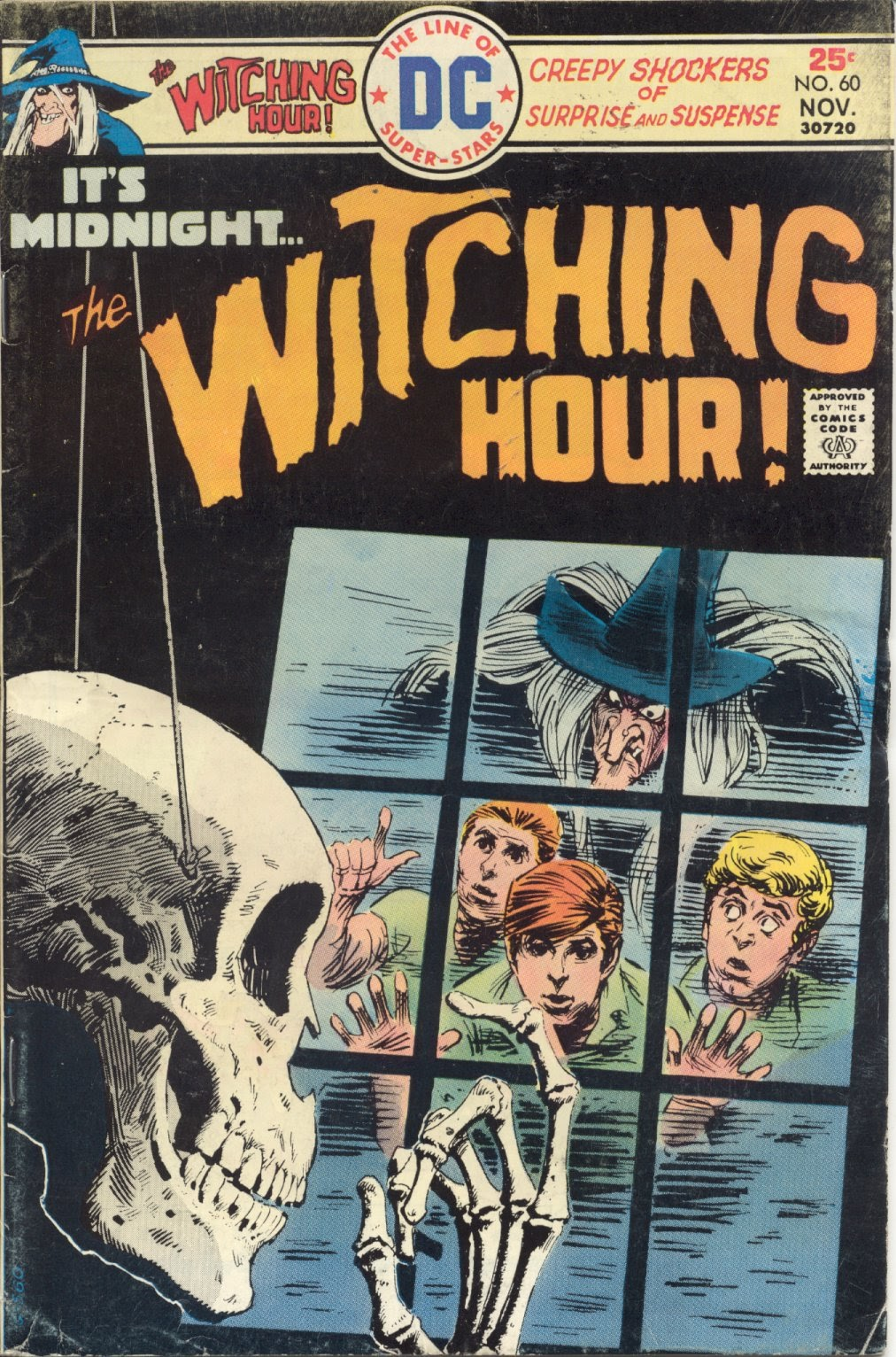 The Witching Hour (1969) issue 60 - Page 1