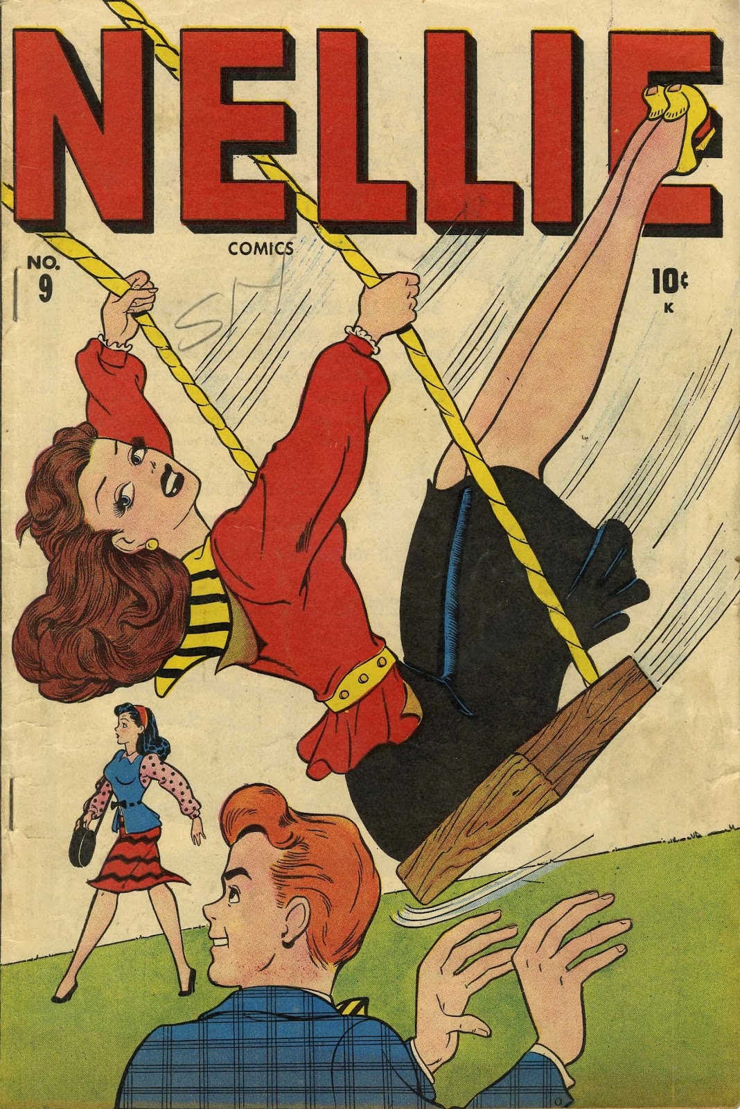 Read online Nellie The Nurse (1945) comic -  Issue #9 - 1