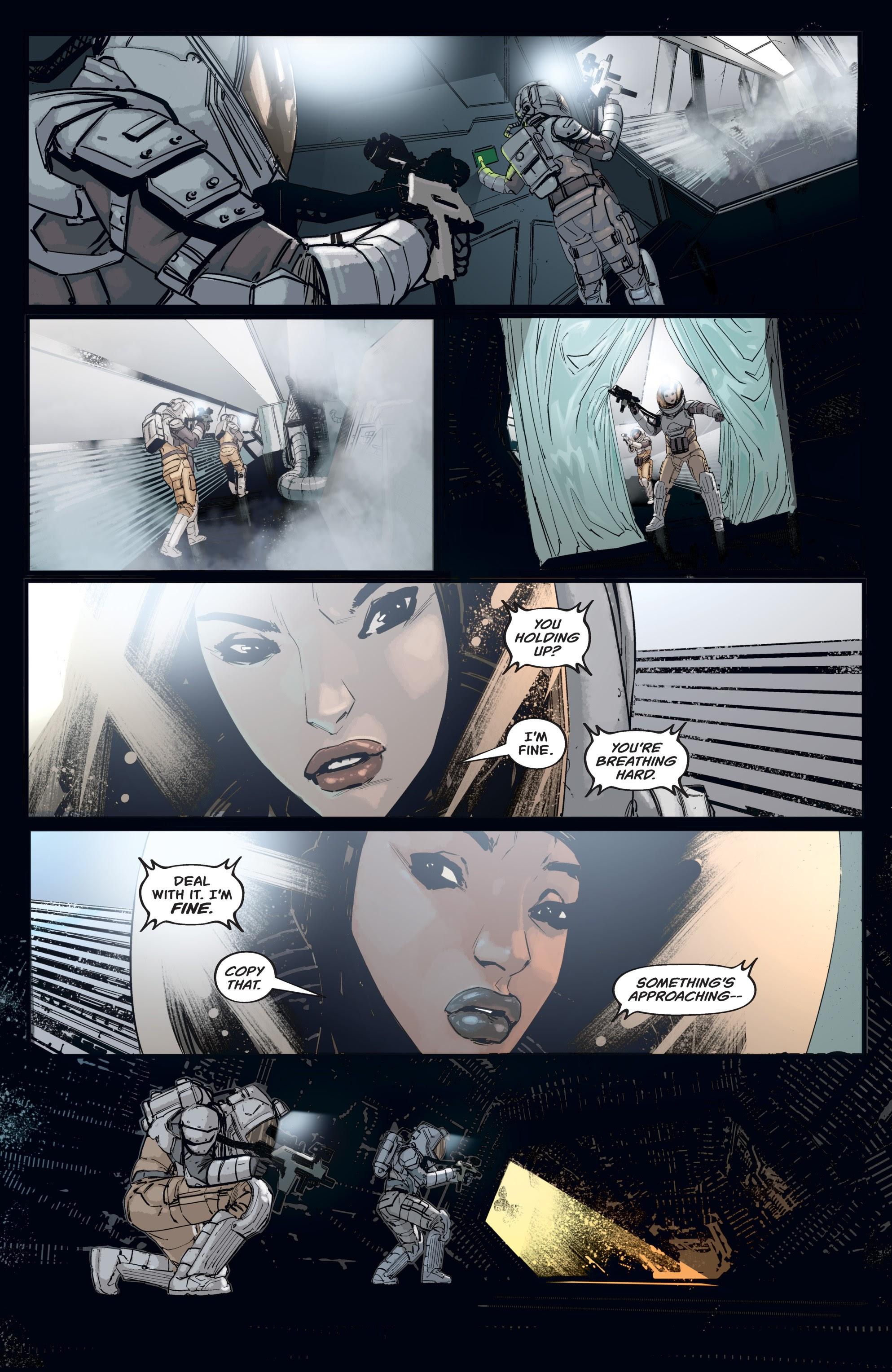 Read online Aliens: Resistance comic -  Issue # _TPB - 35
