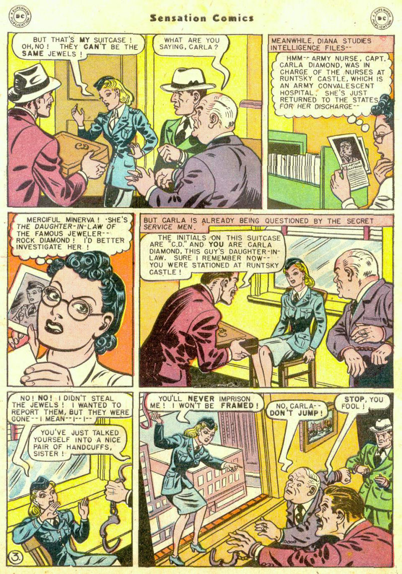 Read online Sensation (Mystery) Comics comic -  Issue #74 - 5
