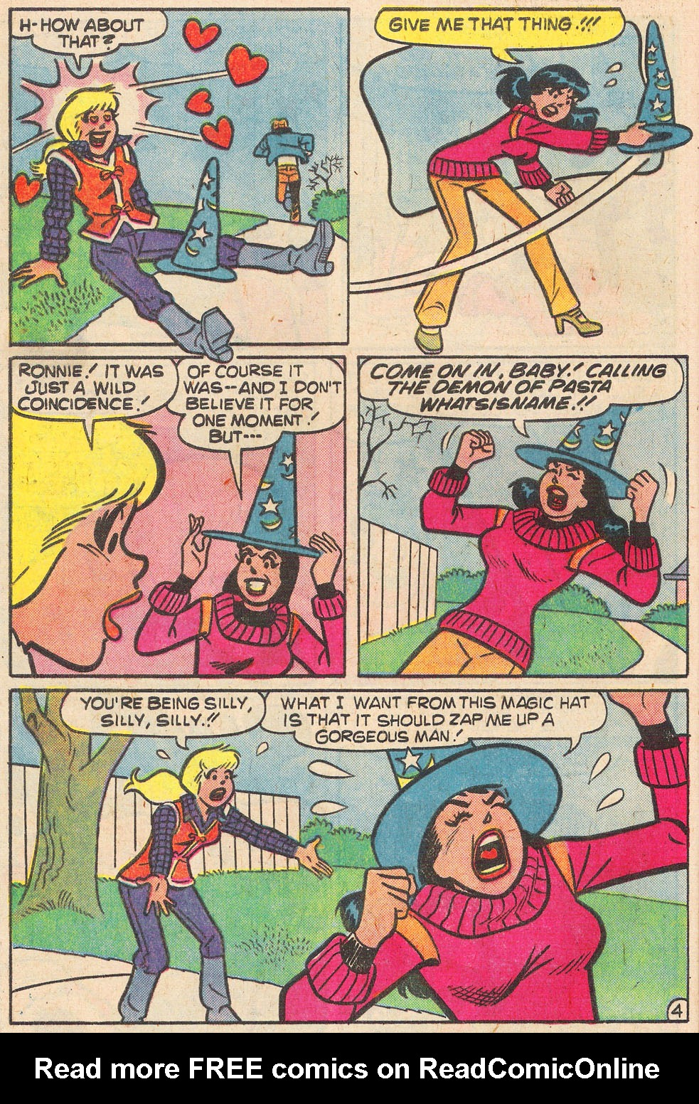 Read online Archie's Girls Betty and Veronica comic -  Issue #269 - 32