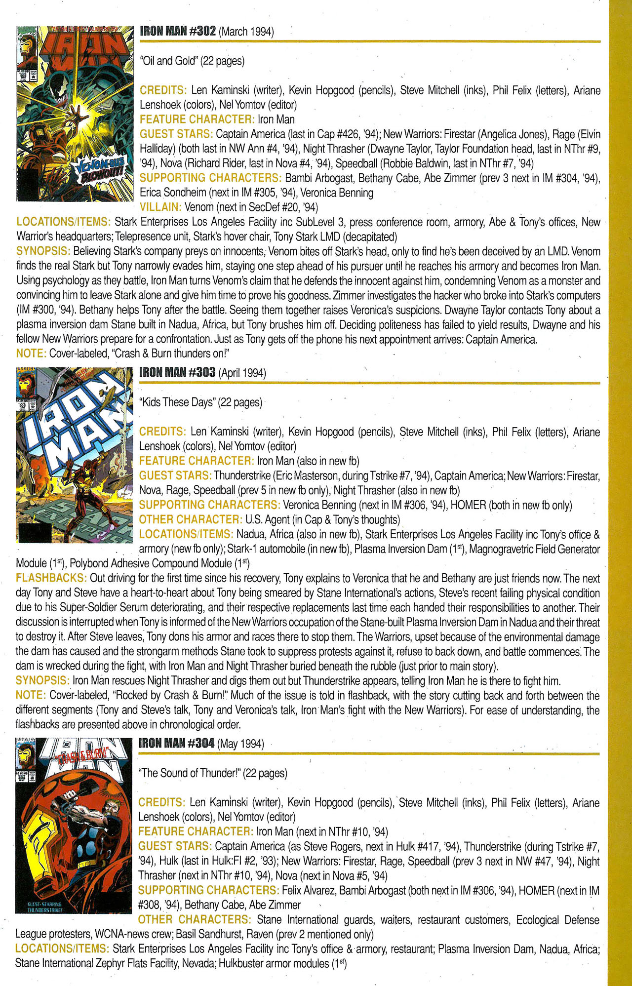 Read online Official Index to the Marvel Universe comic -  Issue #9 - 25