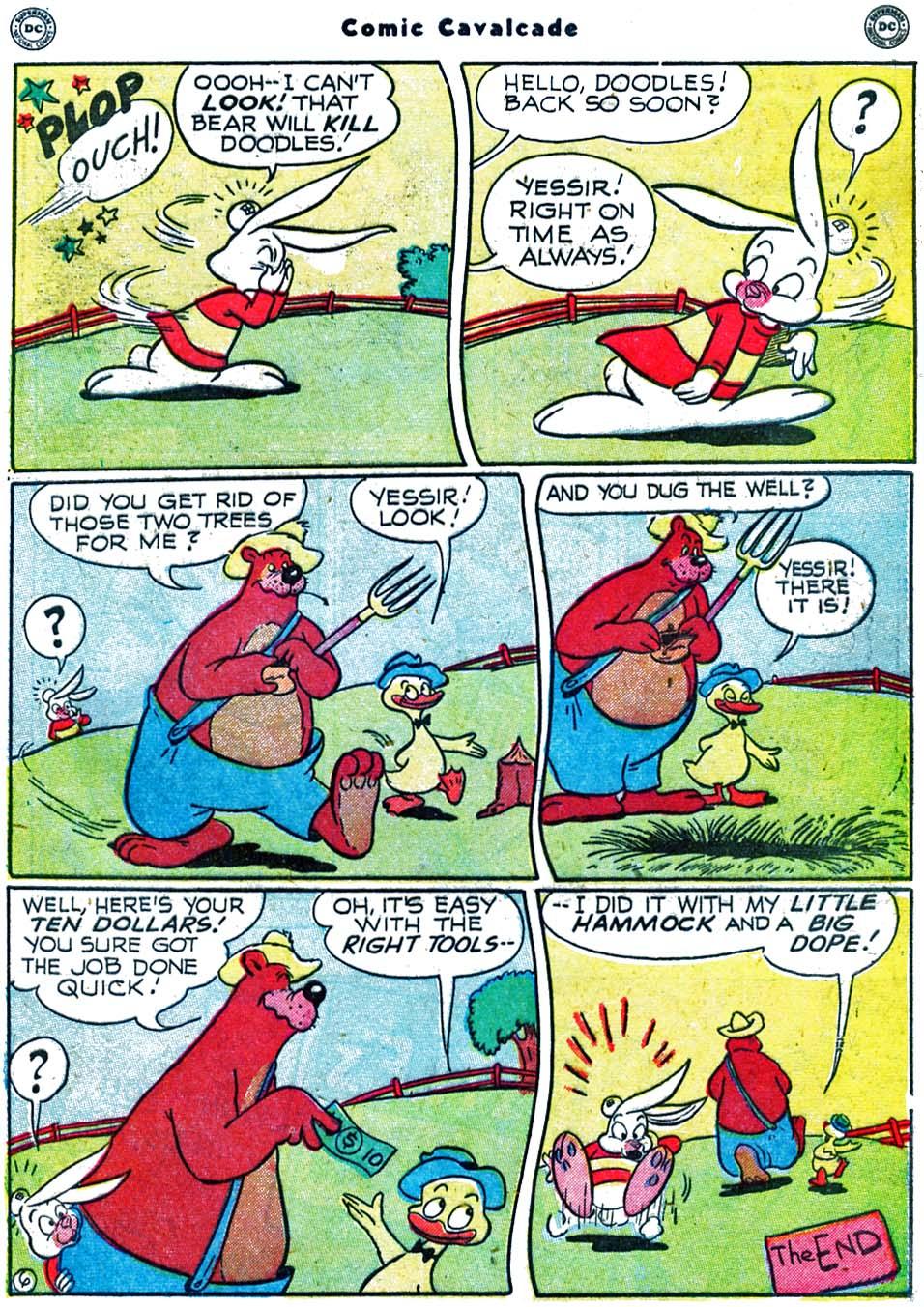Comic Cavalcade issue 40 - Page 43