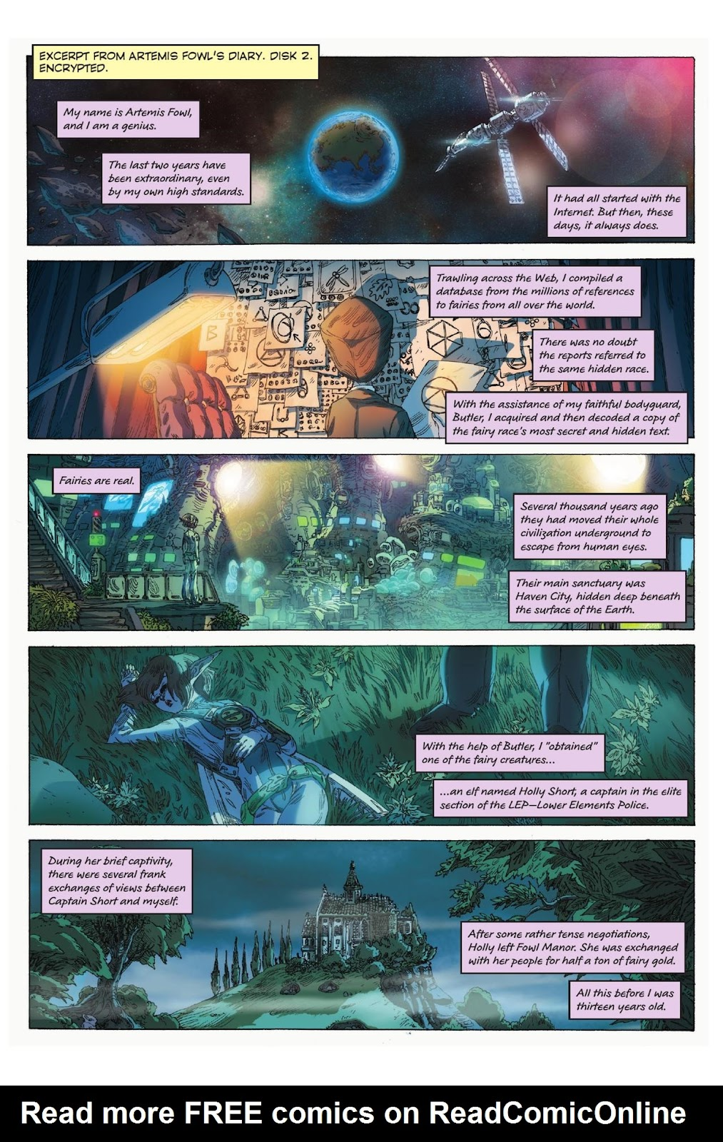 Artemis Fowl: The Eternity Code issue TPB - Page 5
