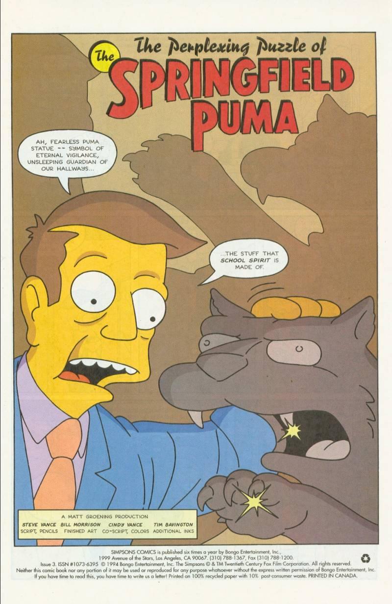 Read online Simpsons Comics comic -  Issue #3 - 2