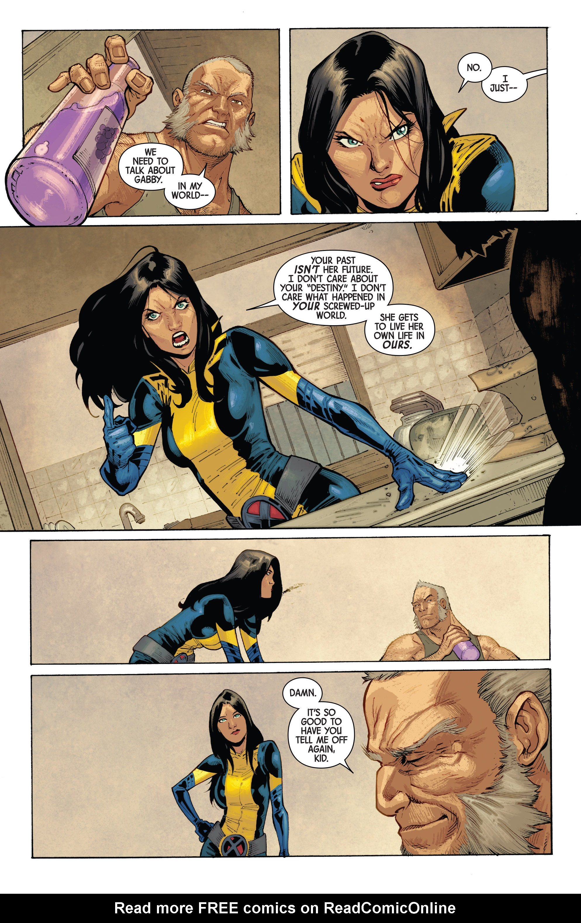 Read online All-New Wolverine (2016) comic -  Issue #10 - 28