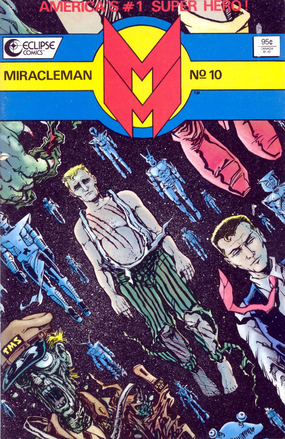 Miracleman (1985) issue 10 - Page 1