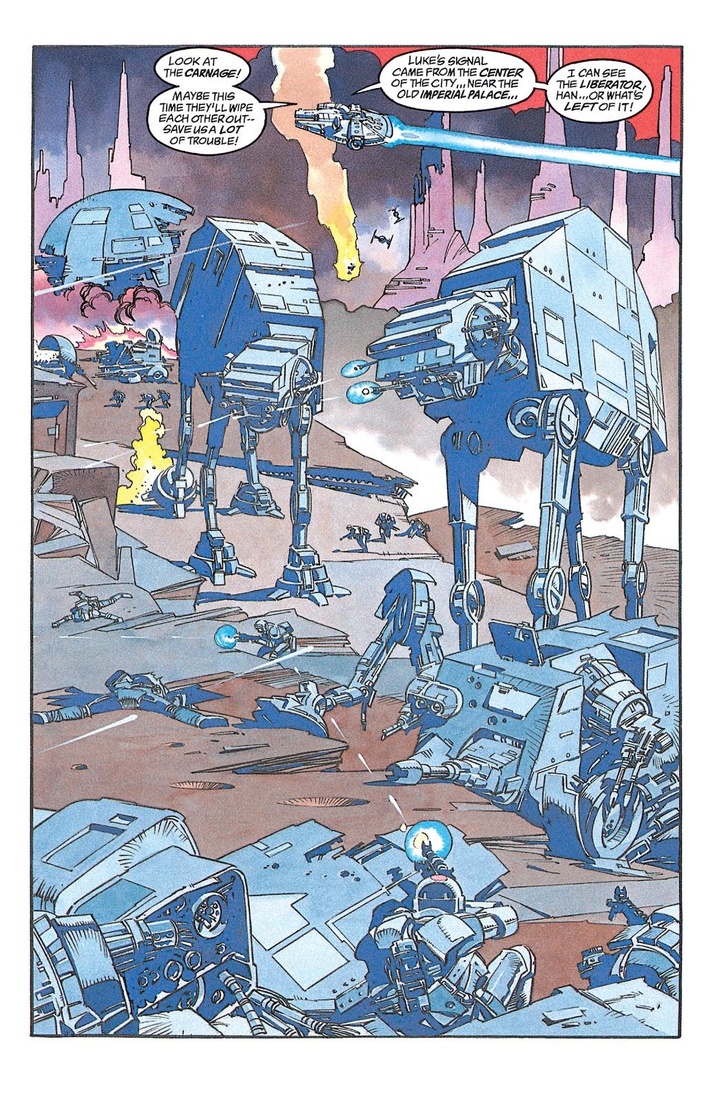 Read online Star Wars: Dark Empire Trilogy comic -  Issue # TPB (Part 1) - 14