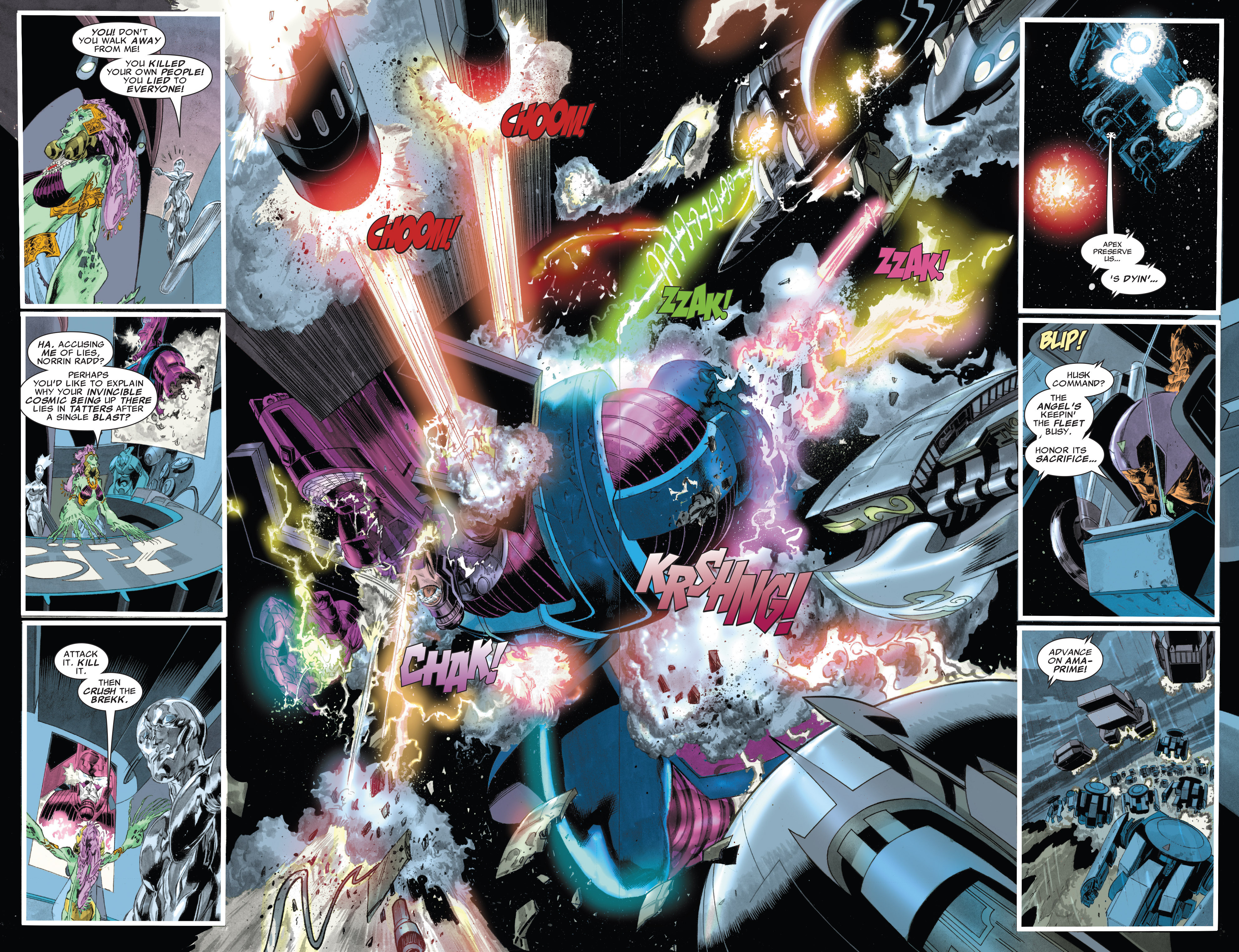 Read online Silver Surfer: In Thy Name comic -  Issue #4 - 15