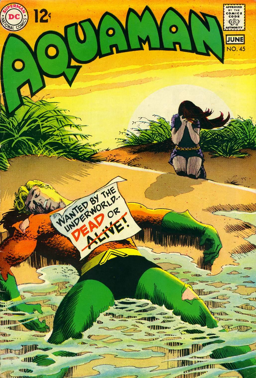 Aquaman (1962) issue 45 - Page 1