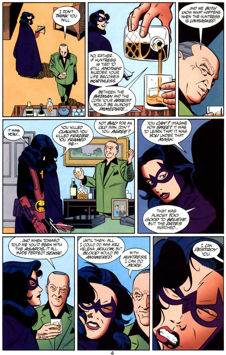 Read online Batman/Huntress: Cry for Blood comic -  Issue #6 - 5