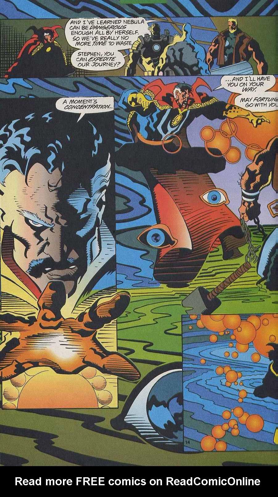 Read online Secret Defenders comic -  Issue #9 - 11