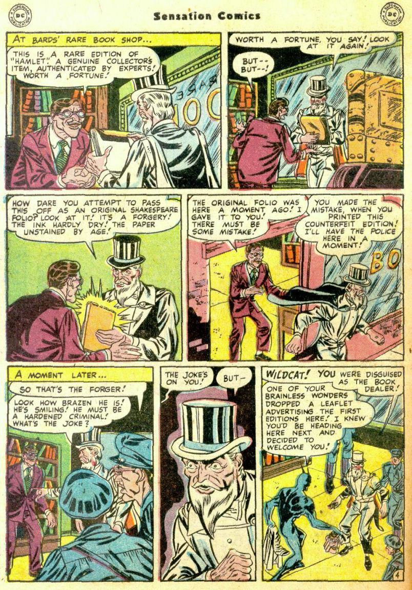 Read online Sensation (Mystery) Comics comic -  Issue #74 - 46