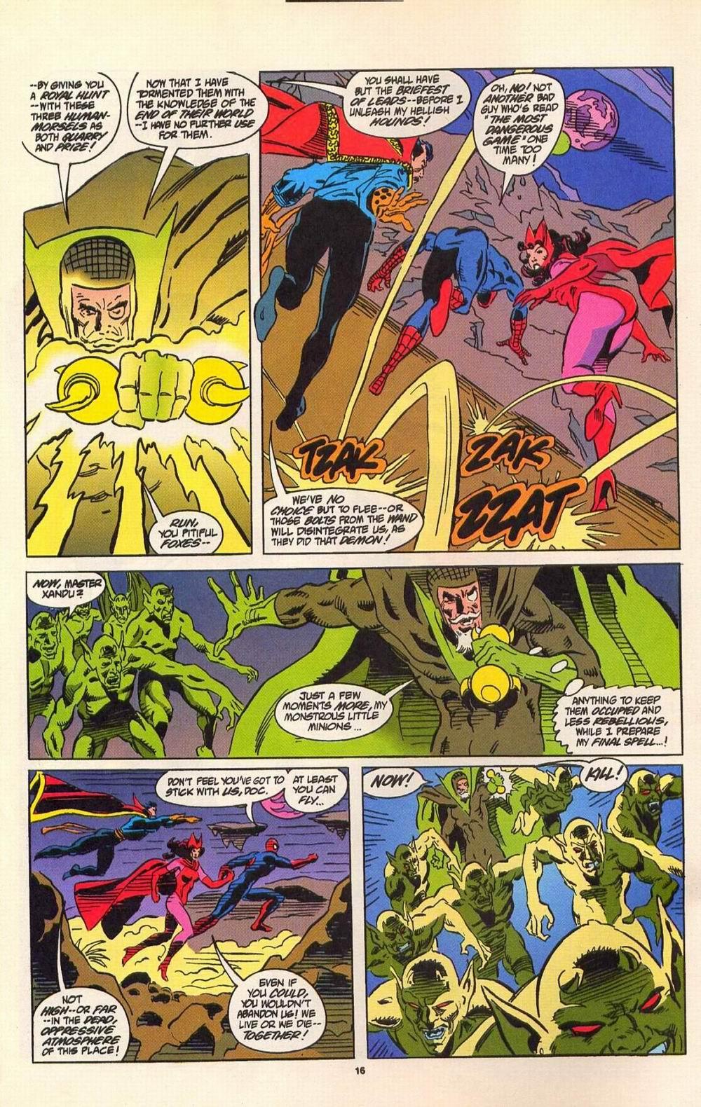 Read online Secret Defenders comic -  Issue #7 - 11