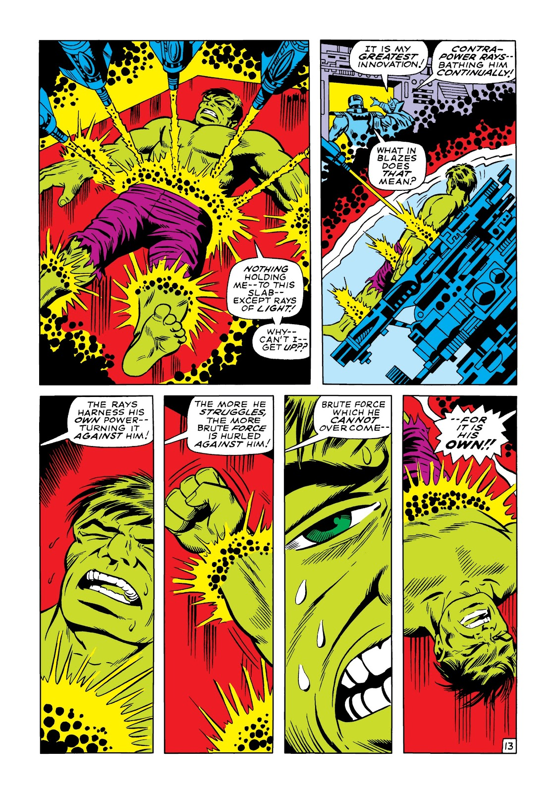 Read online Marvel Masterworks: The Incredible Hulk comic -  Issue # TPB 5 (Part 1) - 82