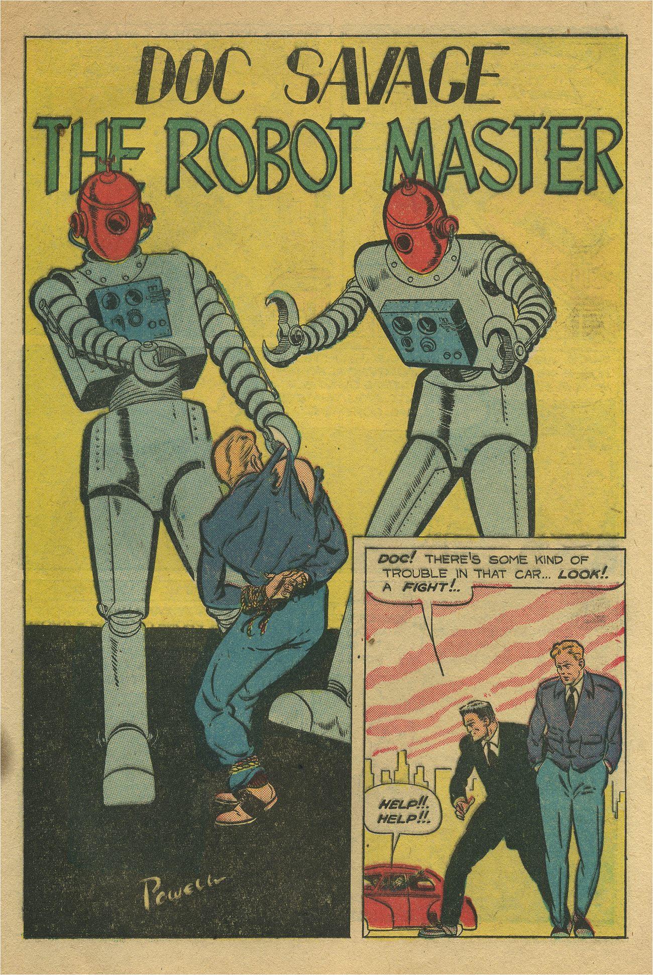 Read online Shadow Comics comic -  Issue #93 - 22