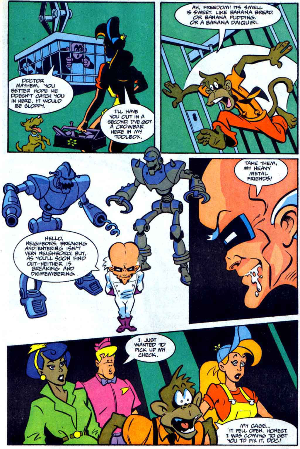 Read online Defenders of Dynatron City comic -  Issue #2 - 8