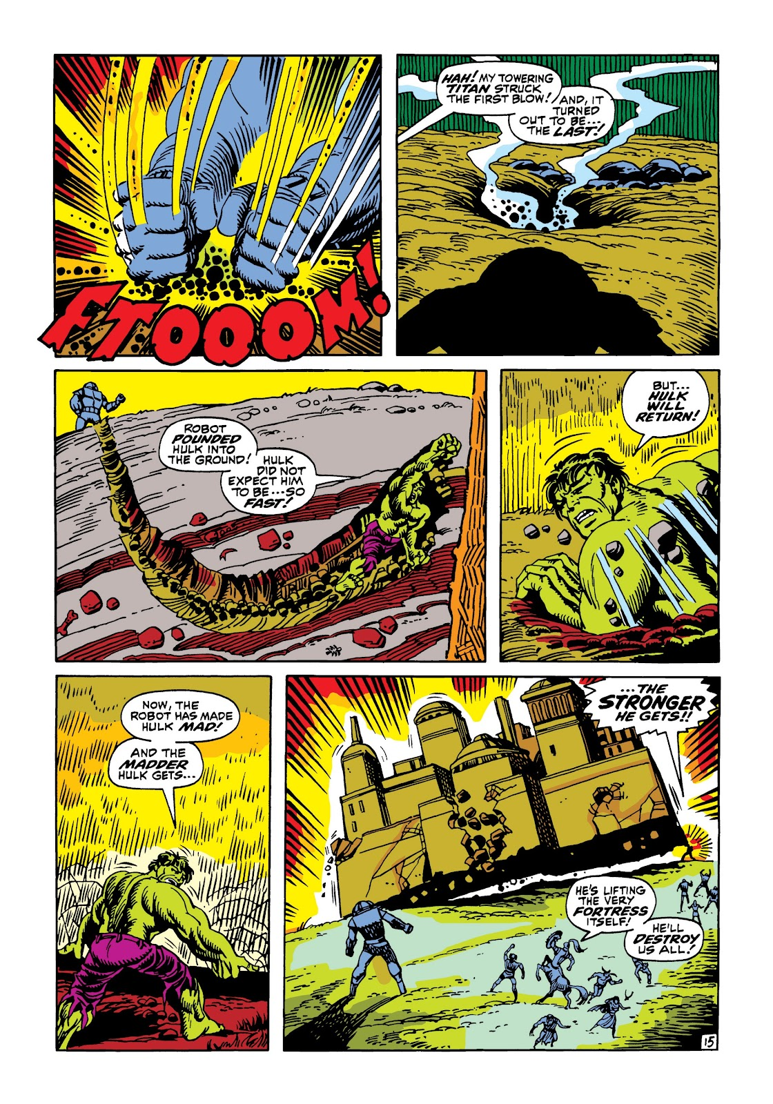 Read online Marvel Masterworks: The Incredible Hulk comic -  Issue # TPB 5 (Part 3) - 10