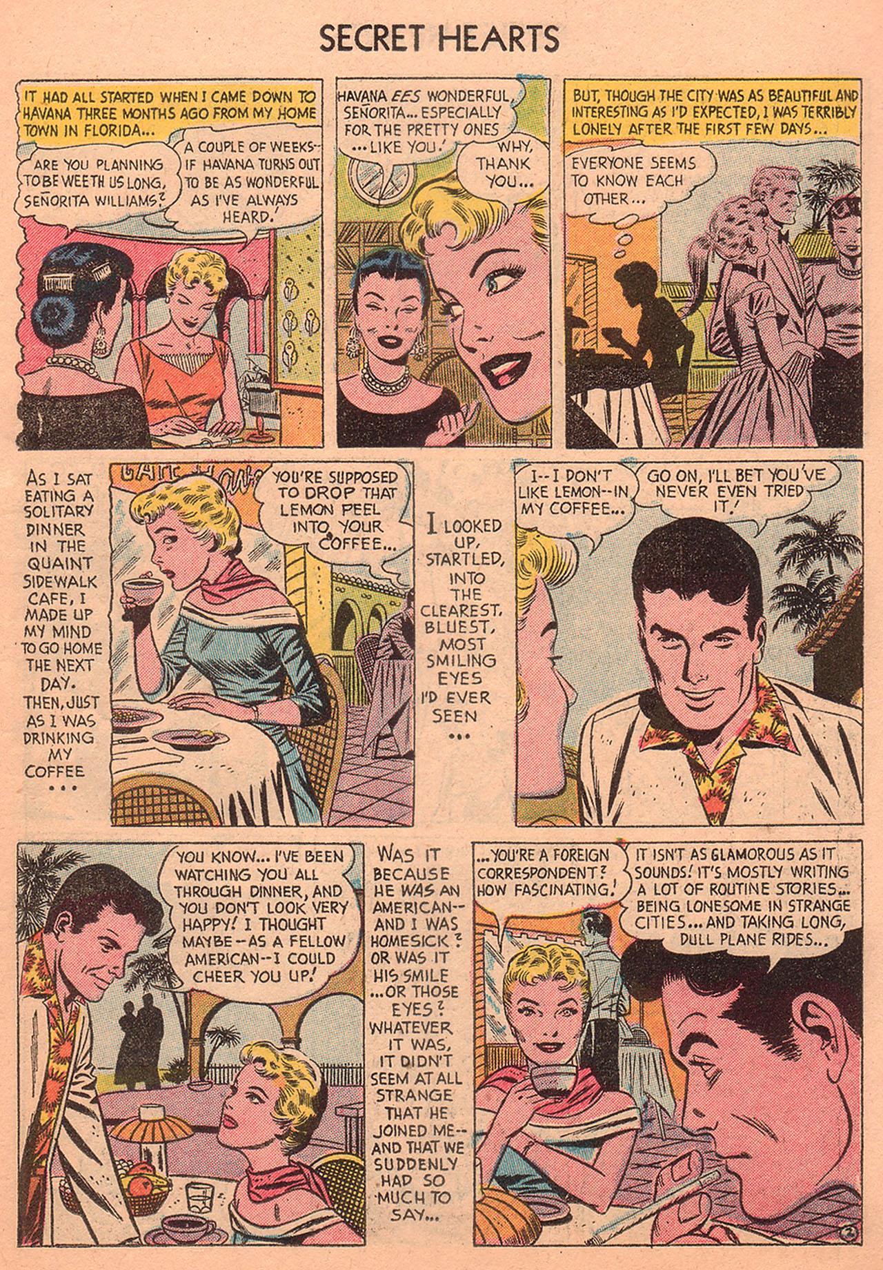 Read online Secret Hearts comic -  Issue #27 - 11