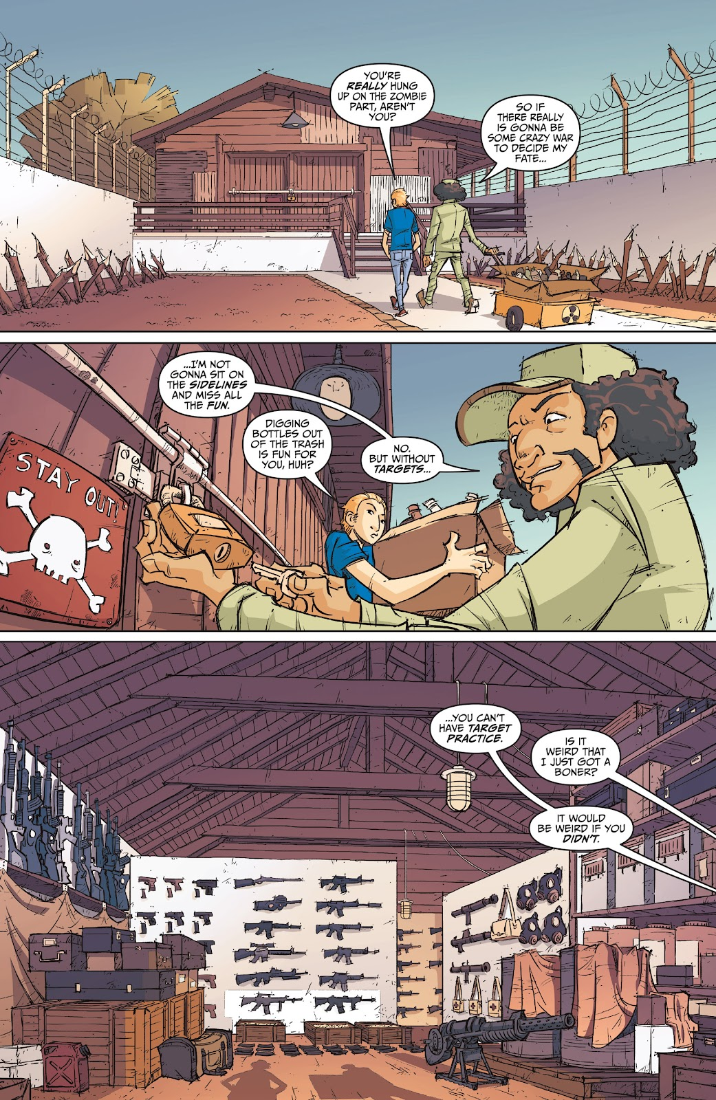 Read online The End Times of Bram and Ben comic -  Issue #1 - 29