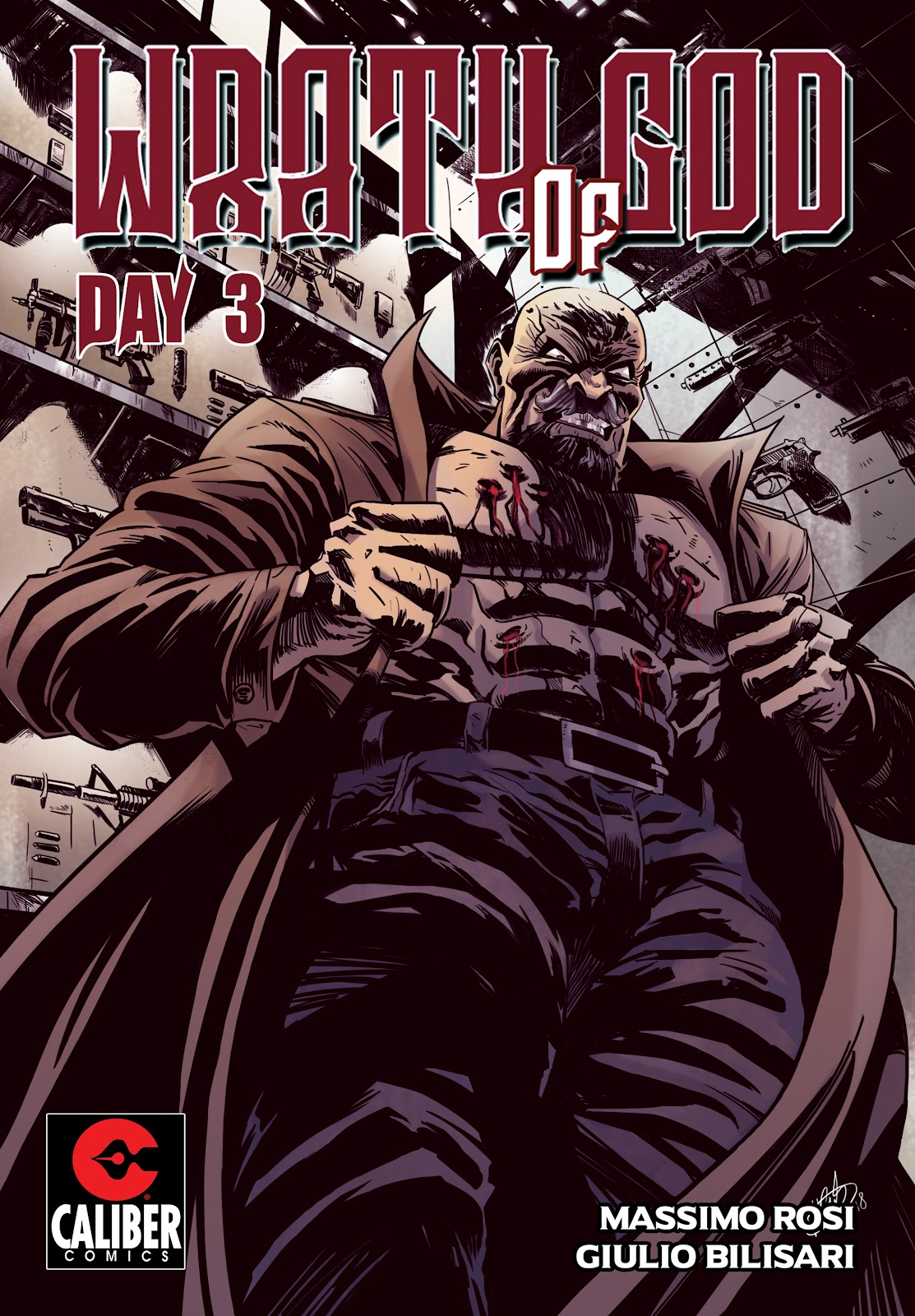 Read online Wrath of God comic -  Issue #3 - 1