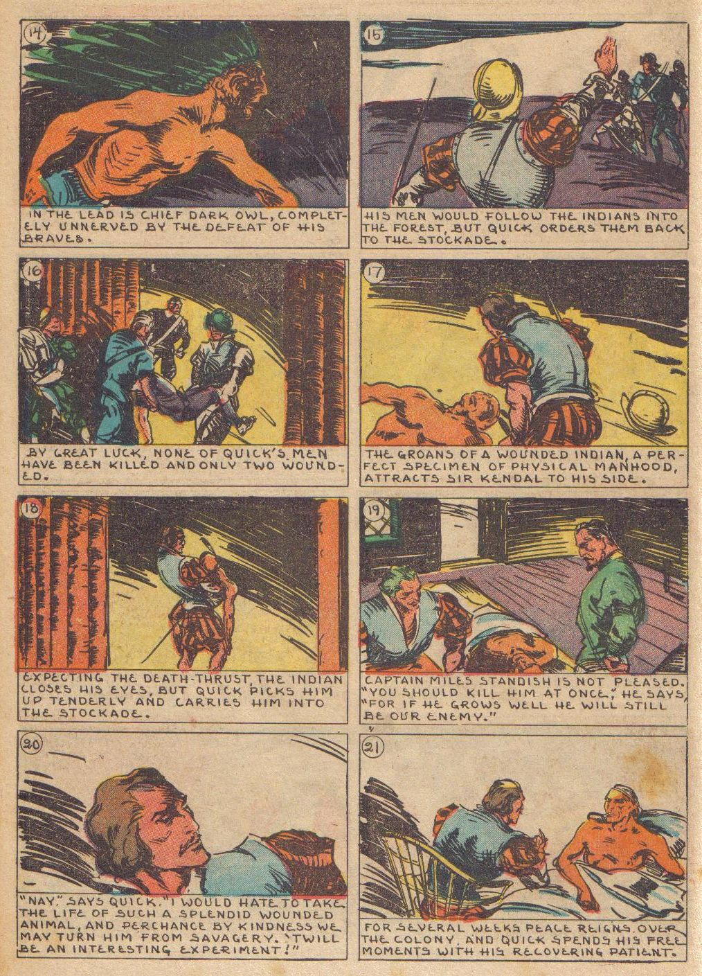 Read online Adventure Comics (1938) comic -  Issue #24 - 32