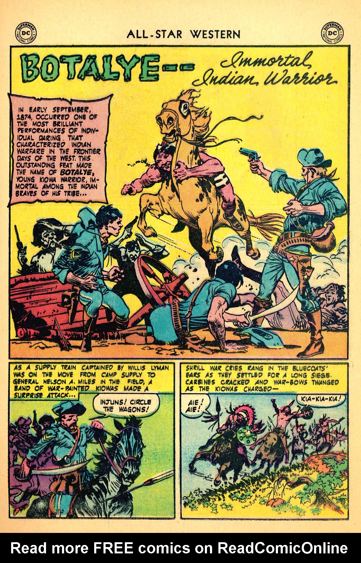 Read online All-Star Western (1951) comic -  Issue #99 - 17
