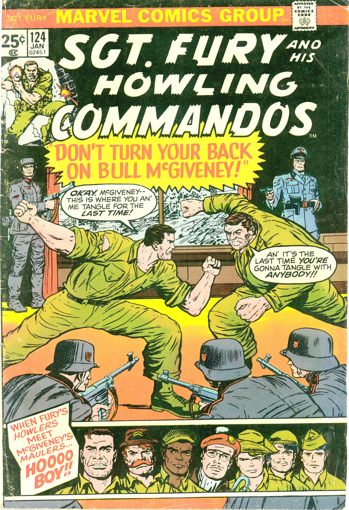 Read online Sgt. Fury comic -  Issue #124 - 1