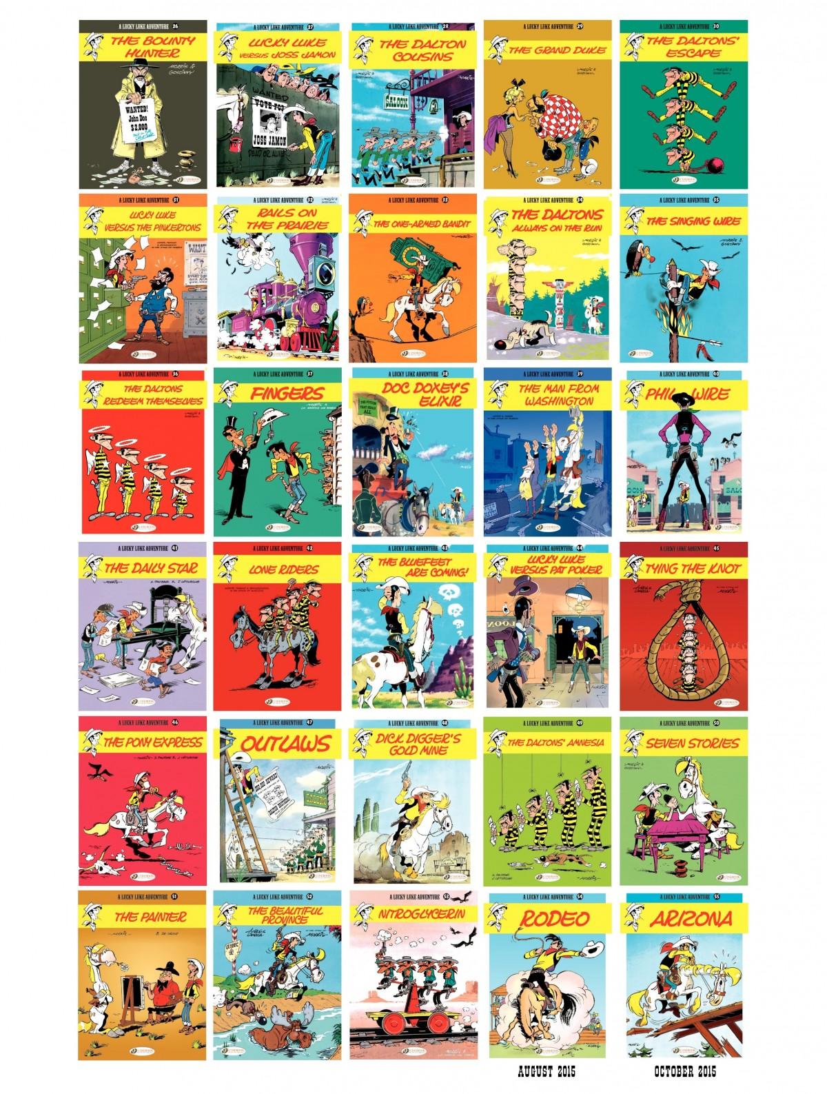 Read online A Lucky Luke Adventure comic -  Issue #53 - 48