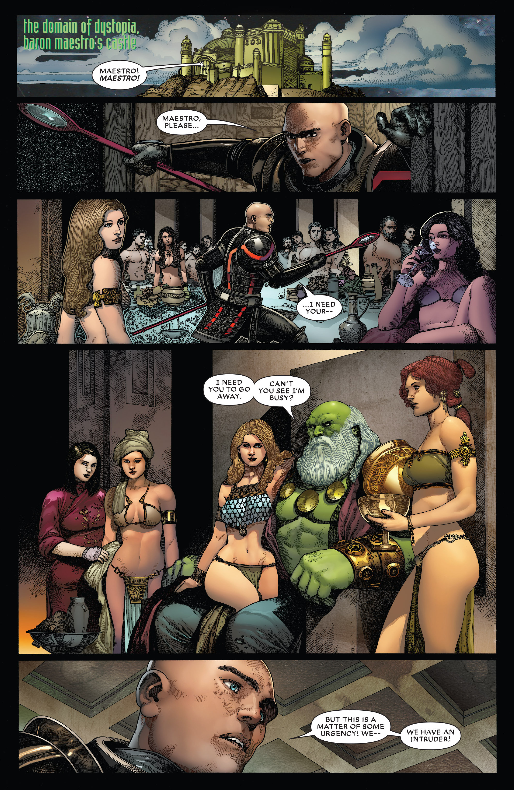 Read online Secret Wars: Battleworld comic -  Issue #4 - 12