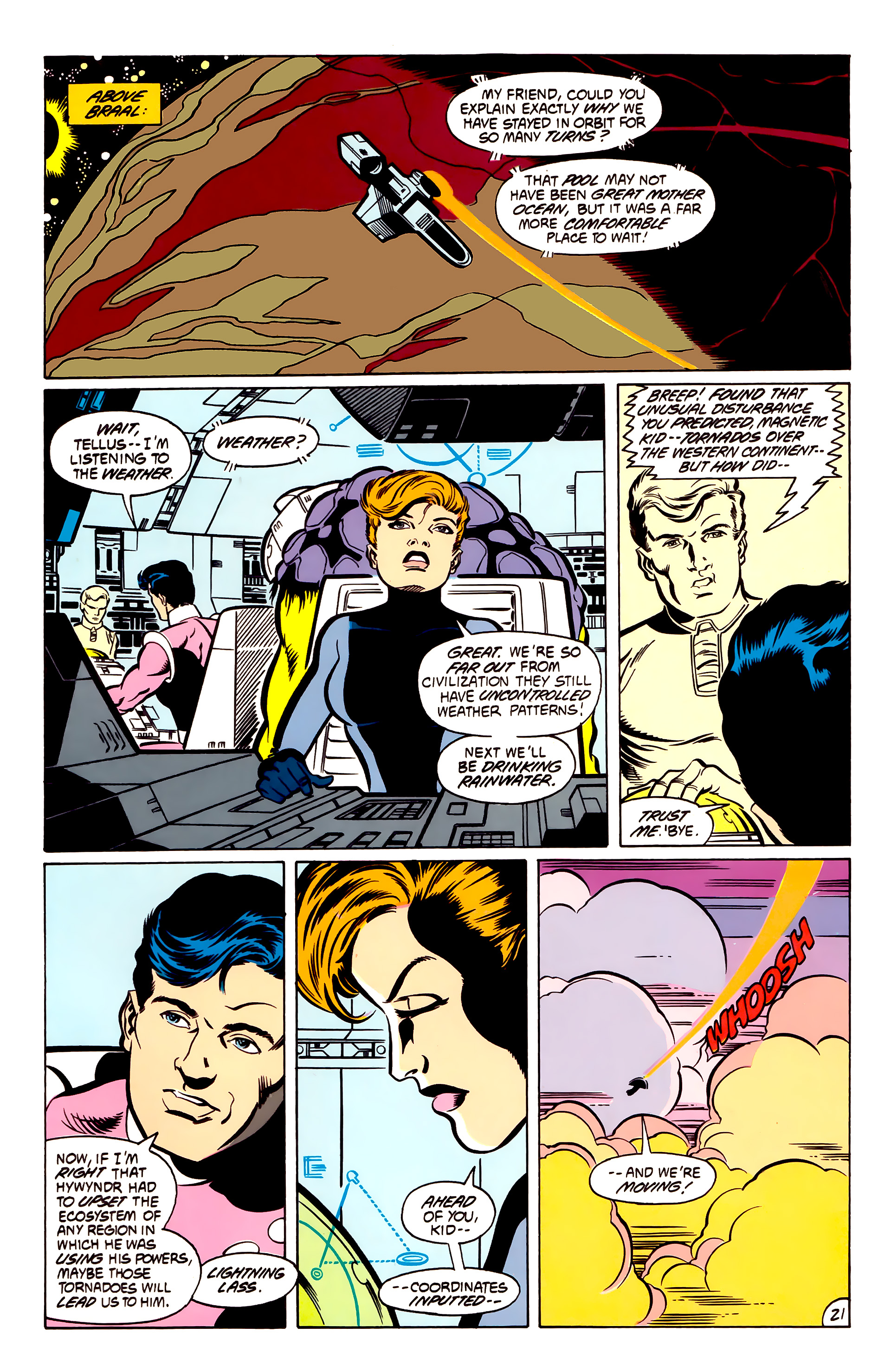 Legion of Super-Heroes (1984) 53 Page 21