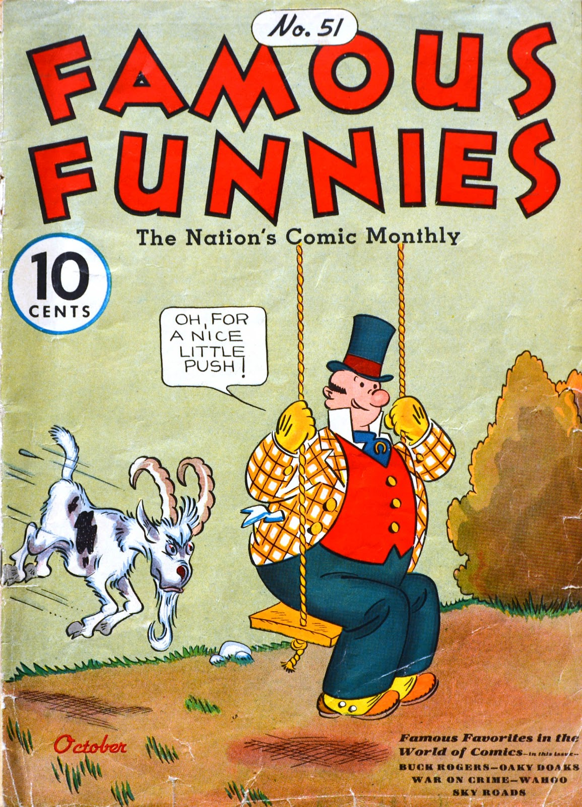 Read online Famous Funnies comic -  Issue #51 - 1