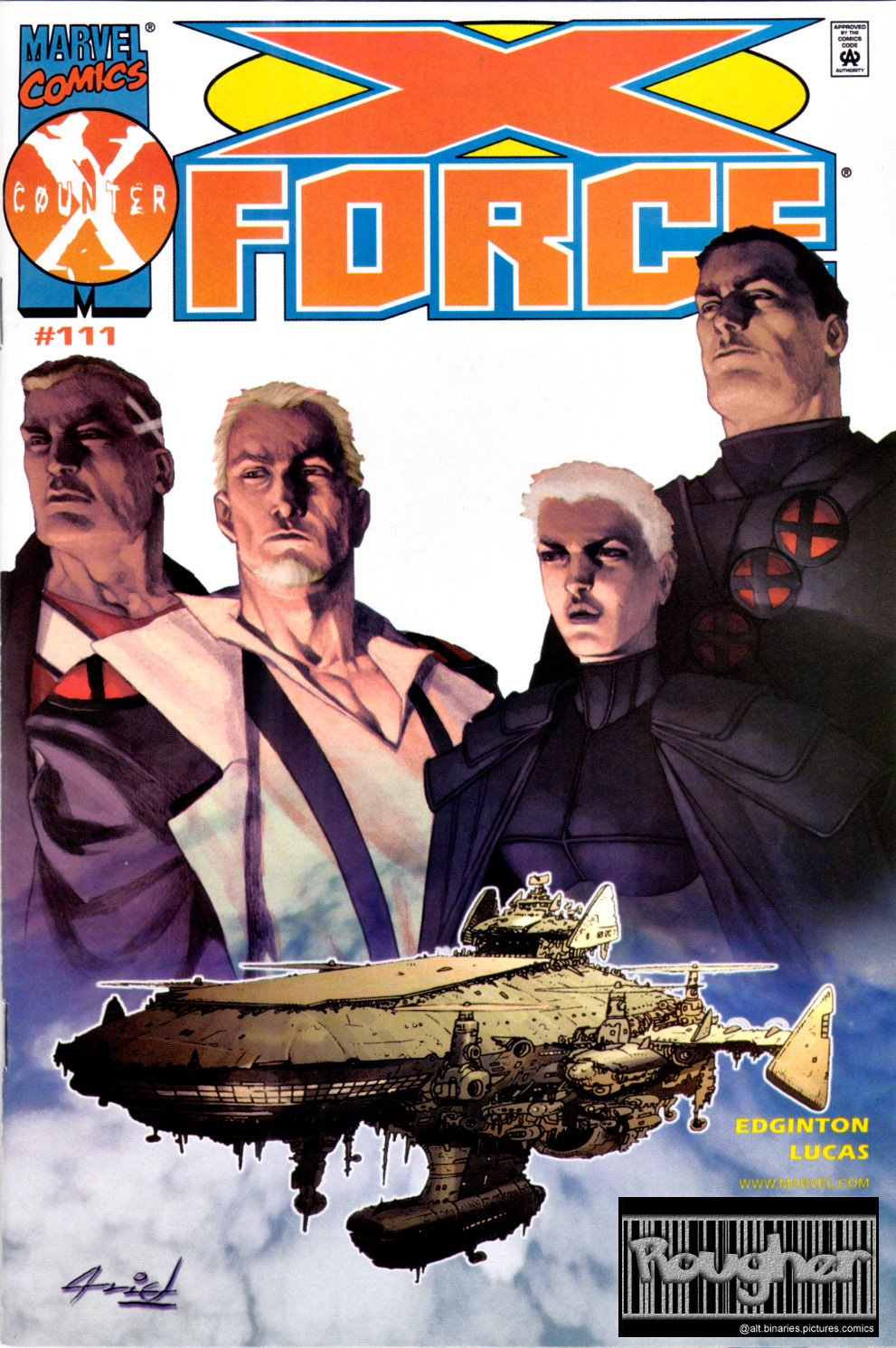 Read online X-Force (1991) comic -  Issue #111 - 1