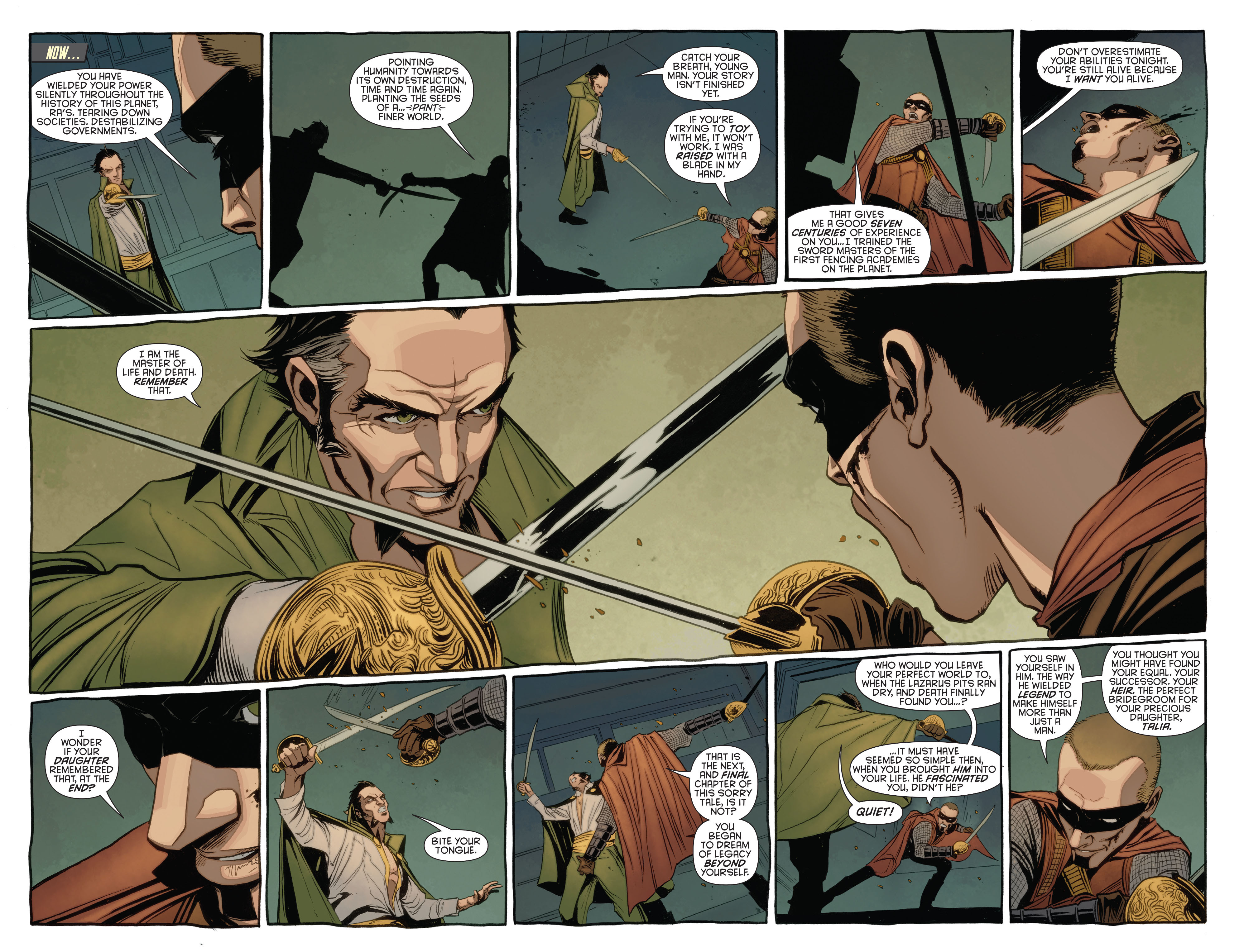 Read online Batman and Robin (2011) comic -  Issue #23.3 - 12