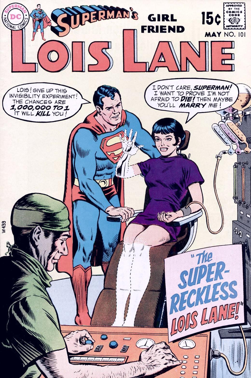 Supermans Girl Friend, Lois Lane 101 Page 1