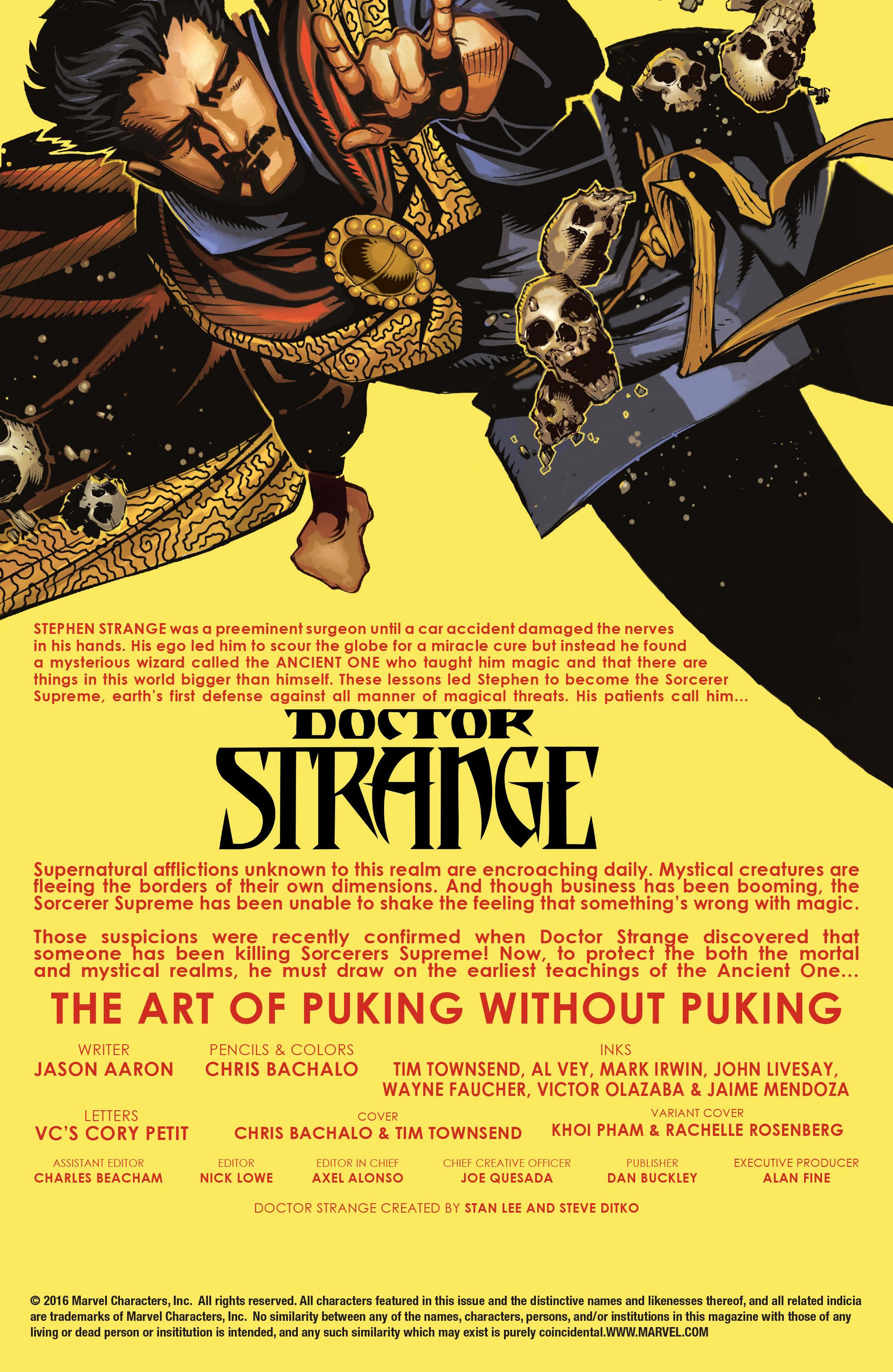 Doctor Strange (2015) 4 Page 2