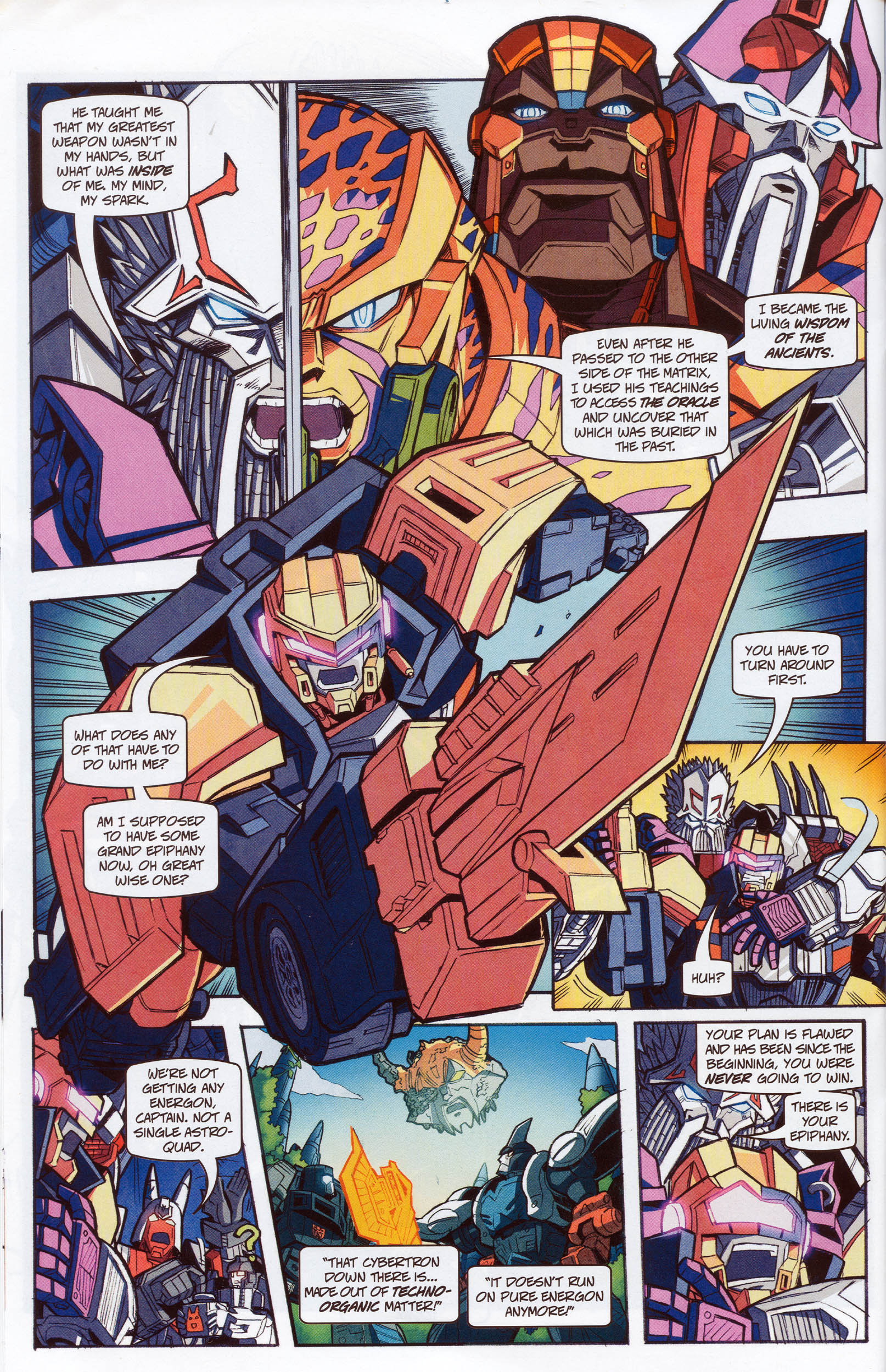 Read online Transformers: Timelines comic -  Issue #10 - 22
