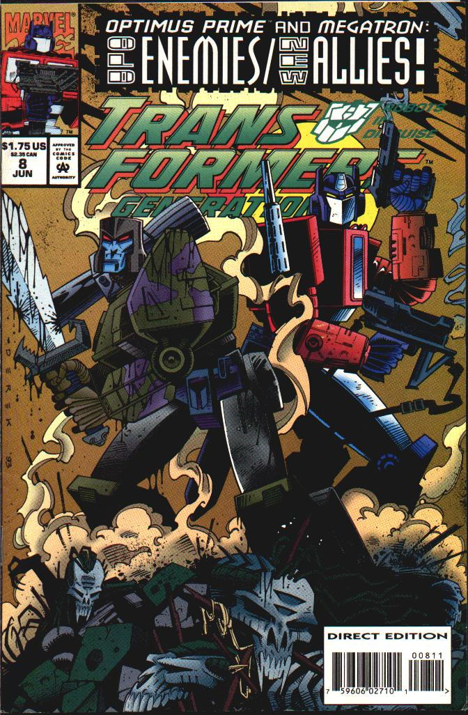 Read online Transformers: Generation 2 comic -  Issue #8 - 1