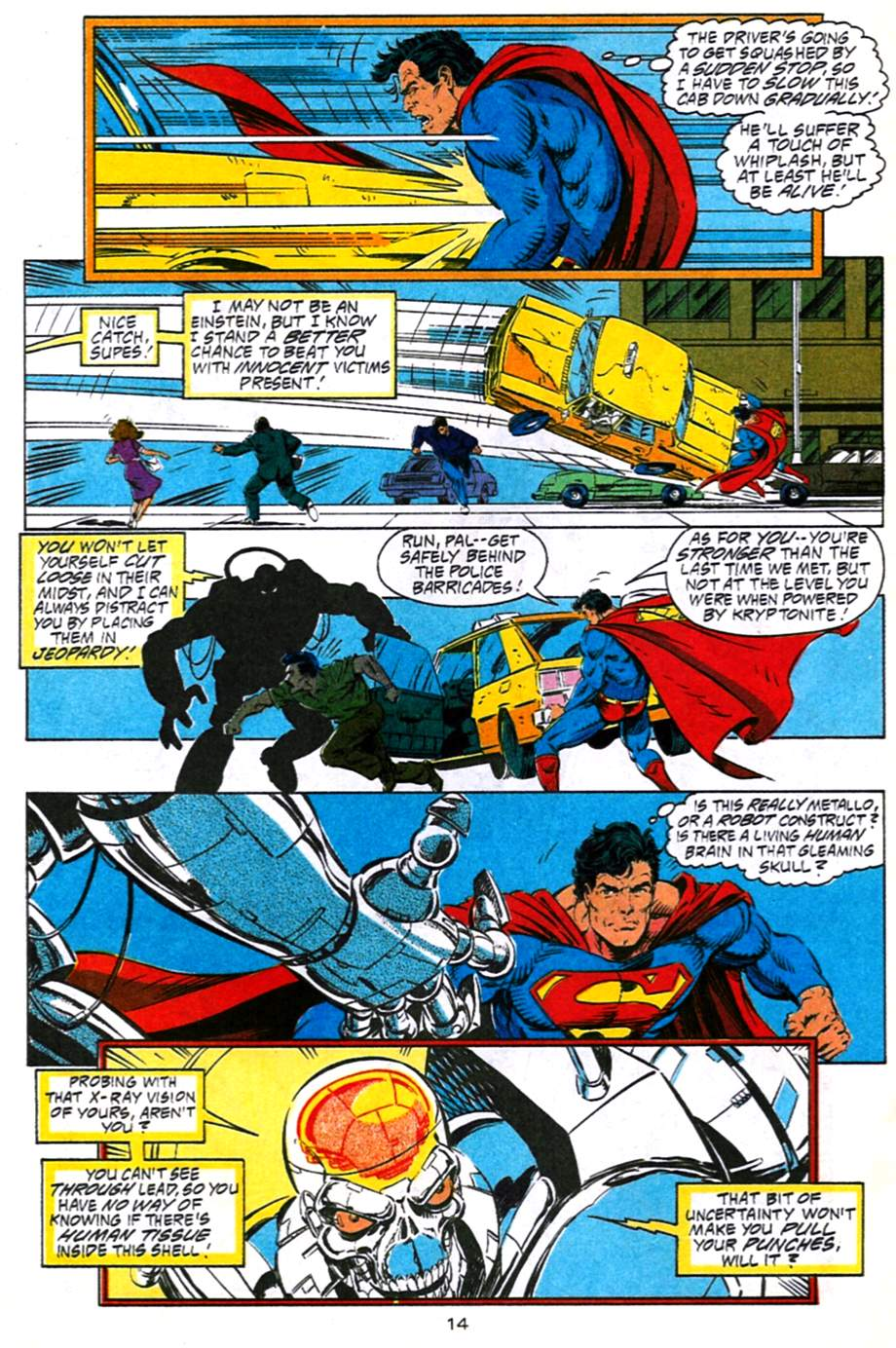 Read online Adventures of Superman (1987) comic -  Issue #491 - 15