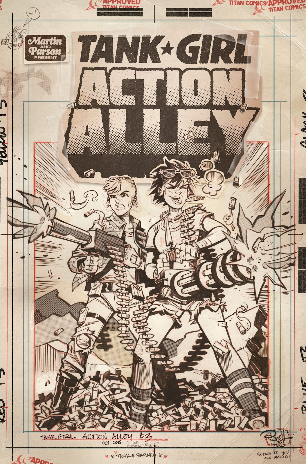 Read online Tank Girl Ongoing comic -  Issue #3 - 3