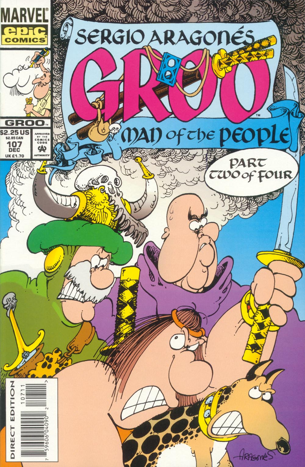 Read online Sergio Aragonés Groo the Wanderer comic -  Issue #107 - 1