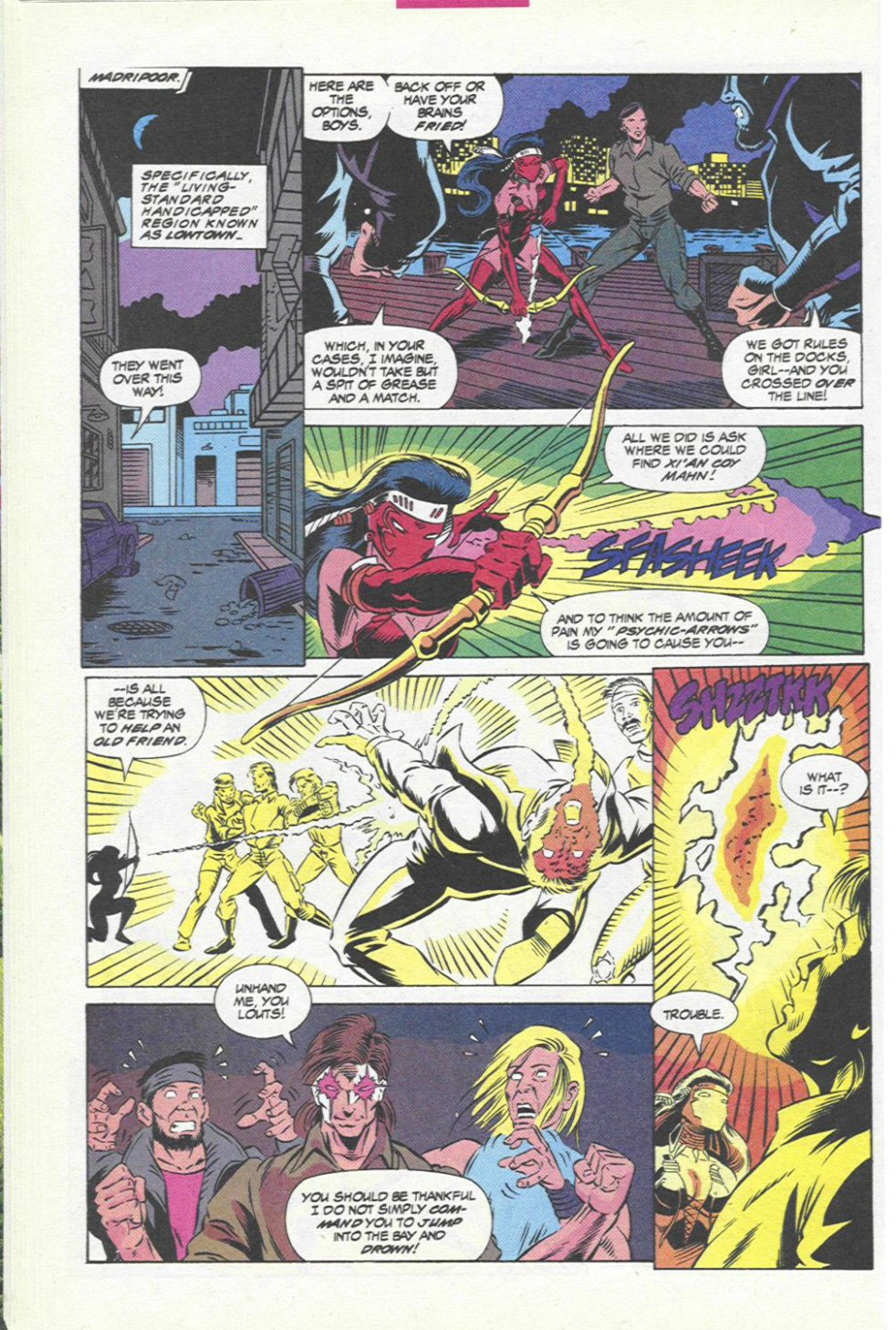 The New Warriors Issue #45 #49 - English 11