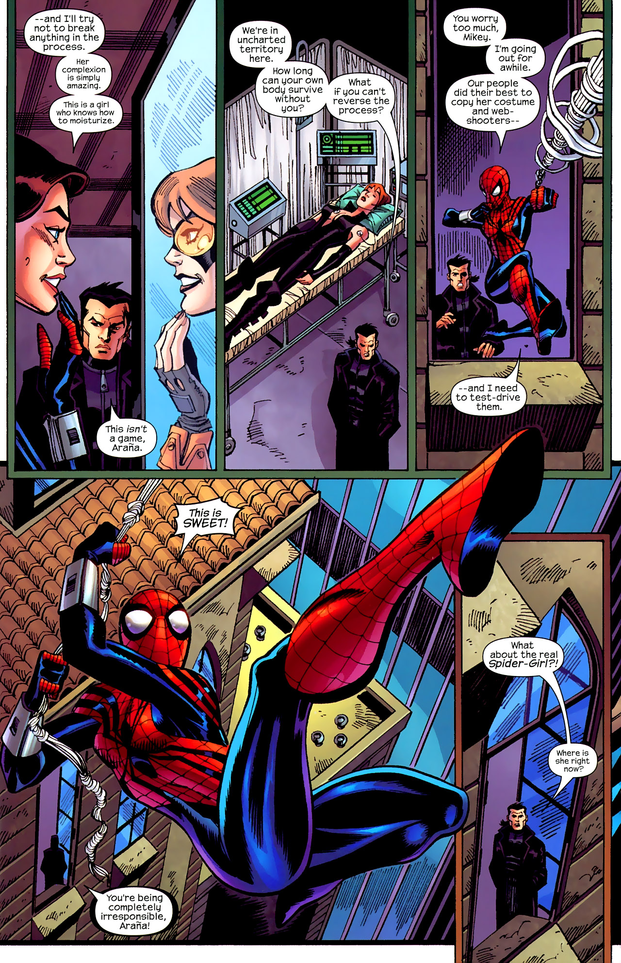 Read online Amazing Spider-Girl comic -  Issue #26 - 4